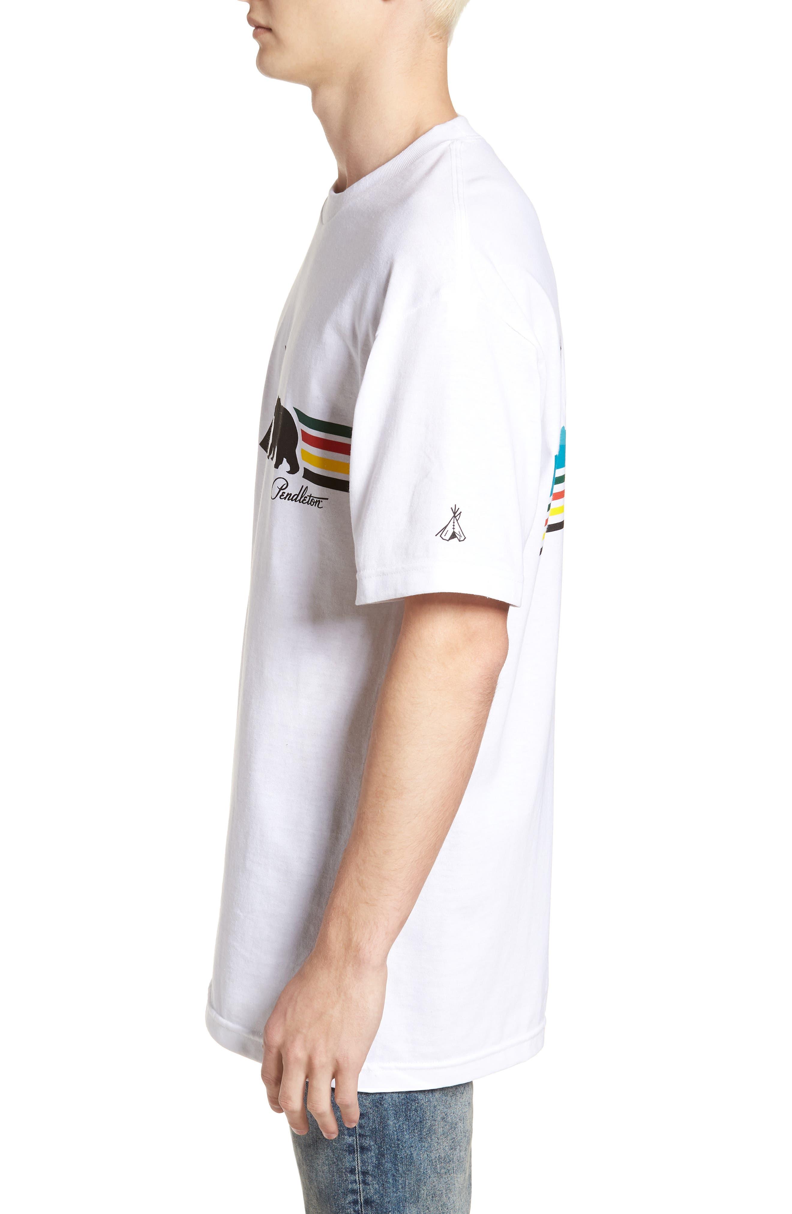 Alternate Image 3  - Pendleton Crewneck T-Shirt