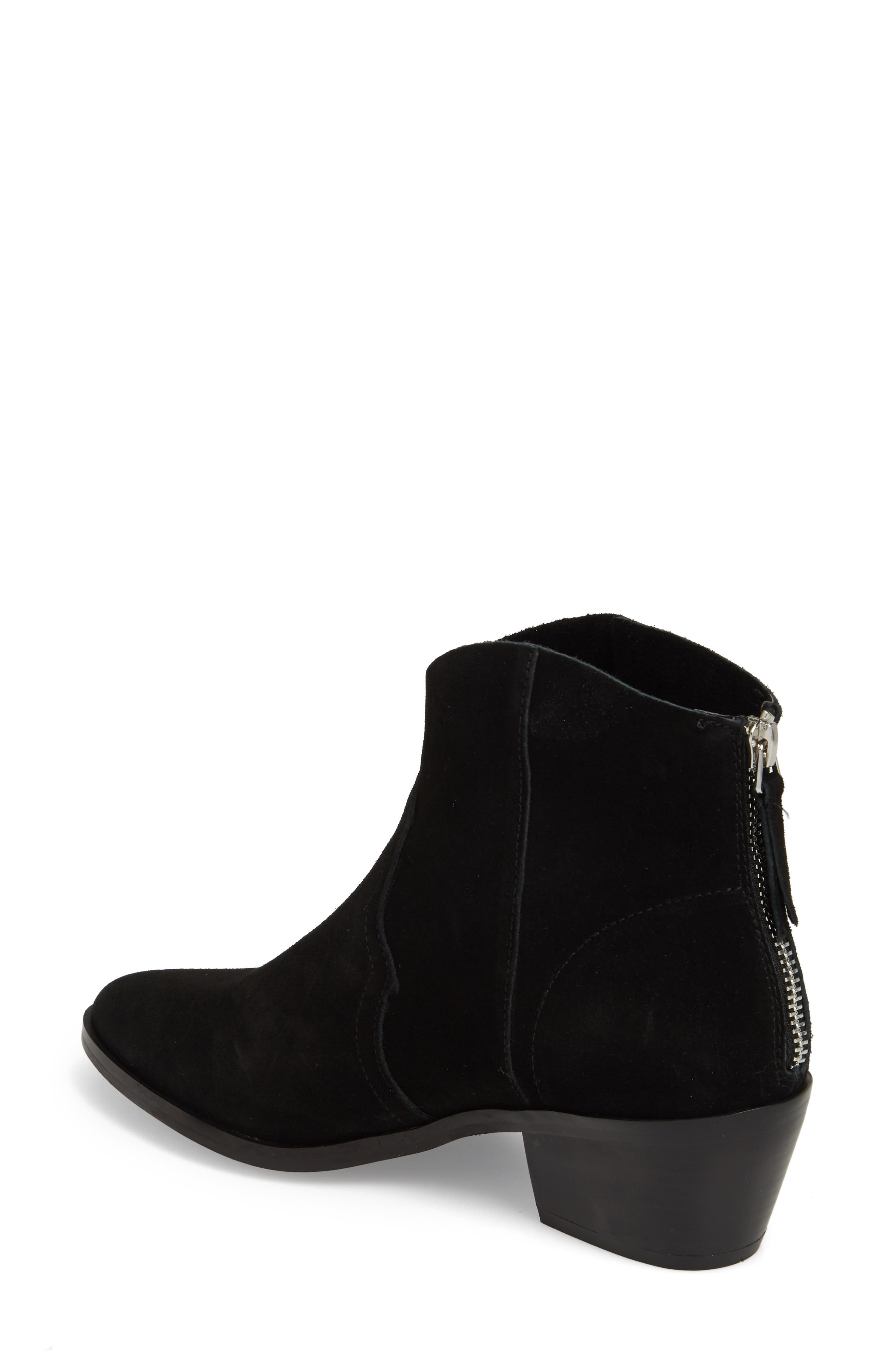 Betty Western Bootie,                             Alternate thumbnail 2, color,                             Black
