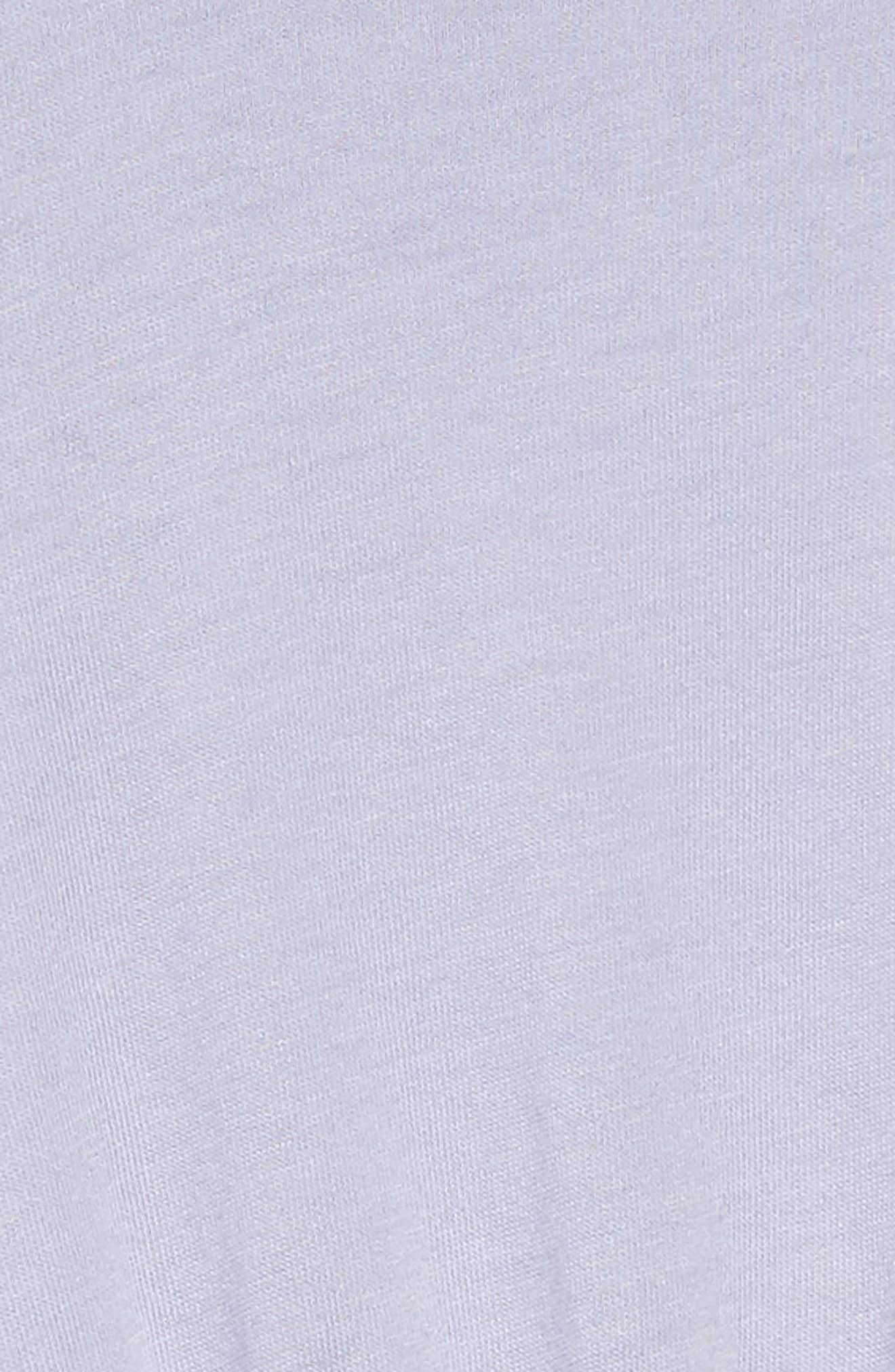 Ruffle Dress,                             Alternate thumbnail 3, color,                             Purple Heart