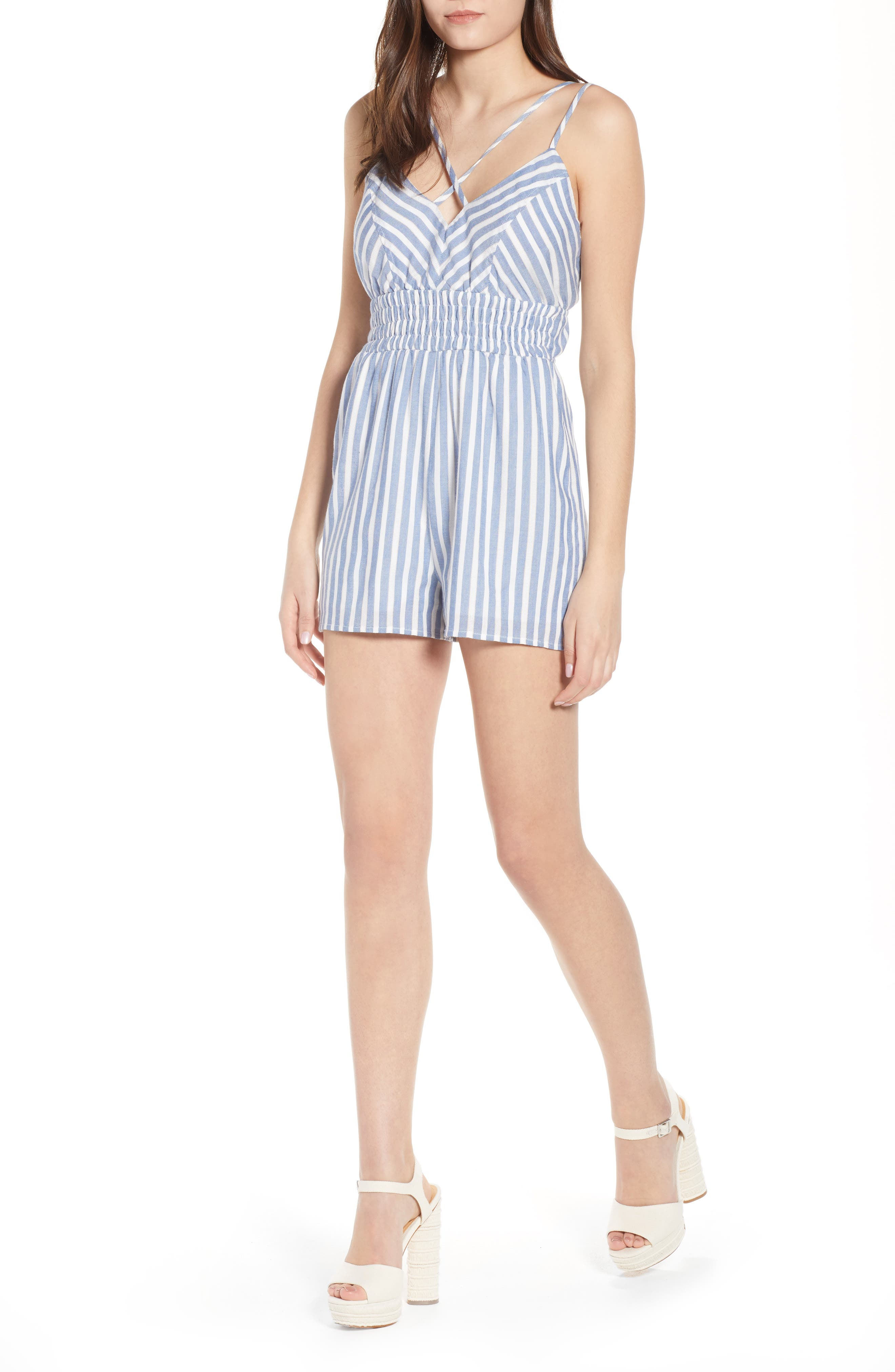 Row A Smocked Romper