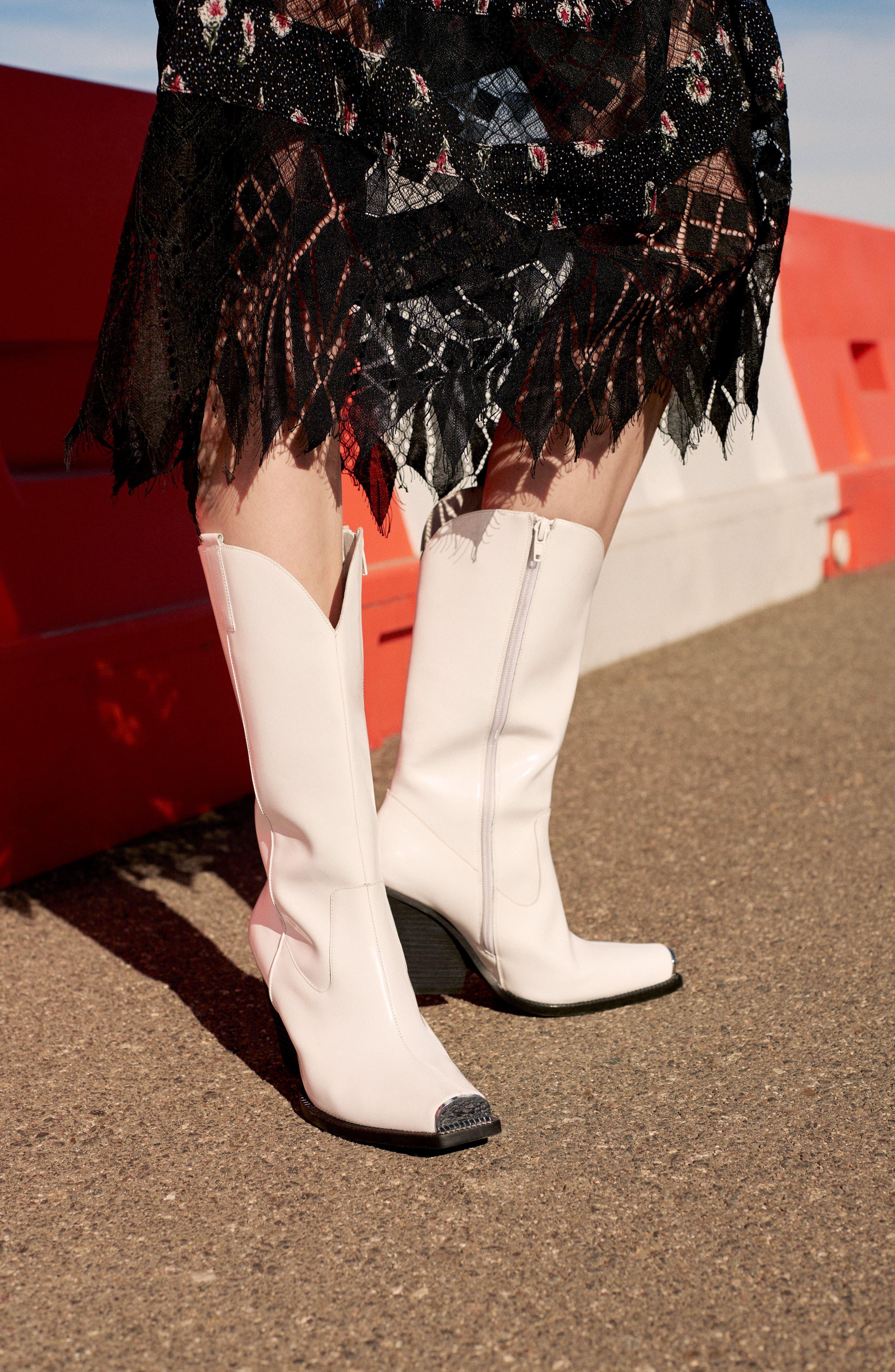 Alternate Image 2  - Foxiedox Sweetwater Stripe Midi Dress