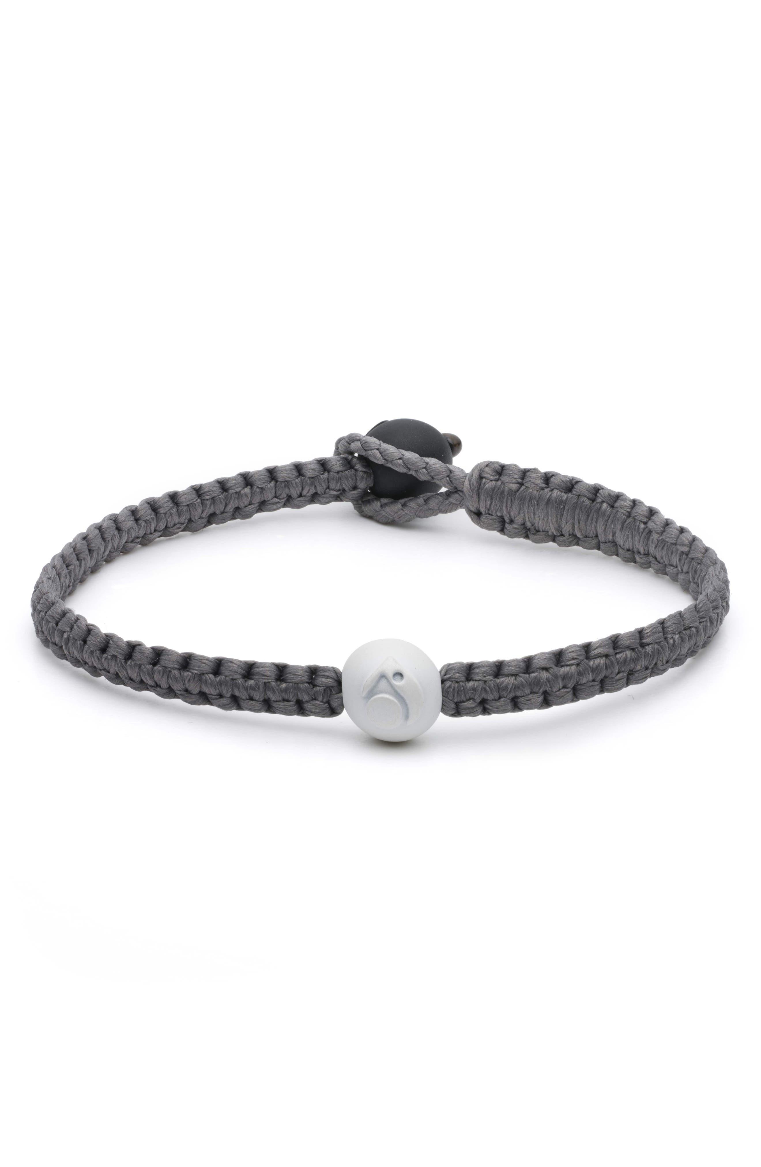 Single Wrap Bracelet,                             Main thumbnail 1, color,                             Silver
