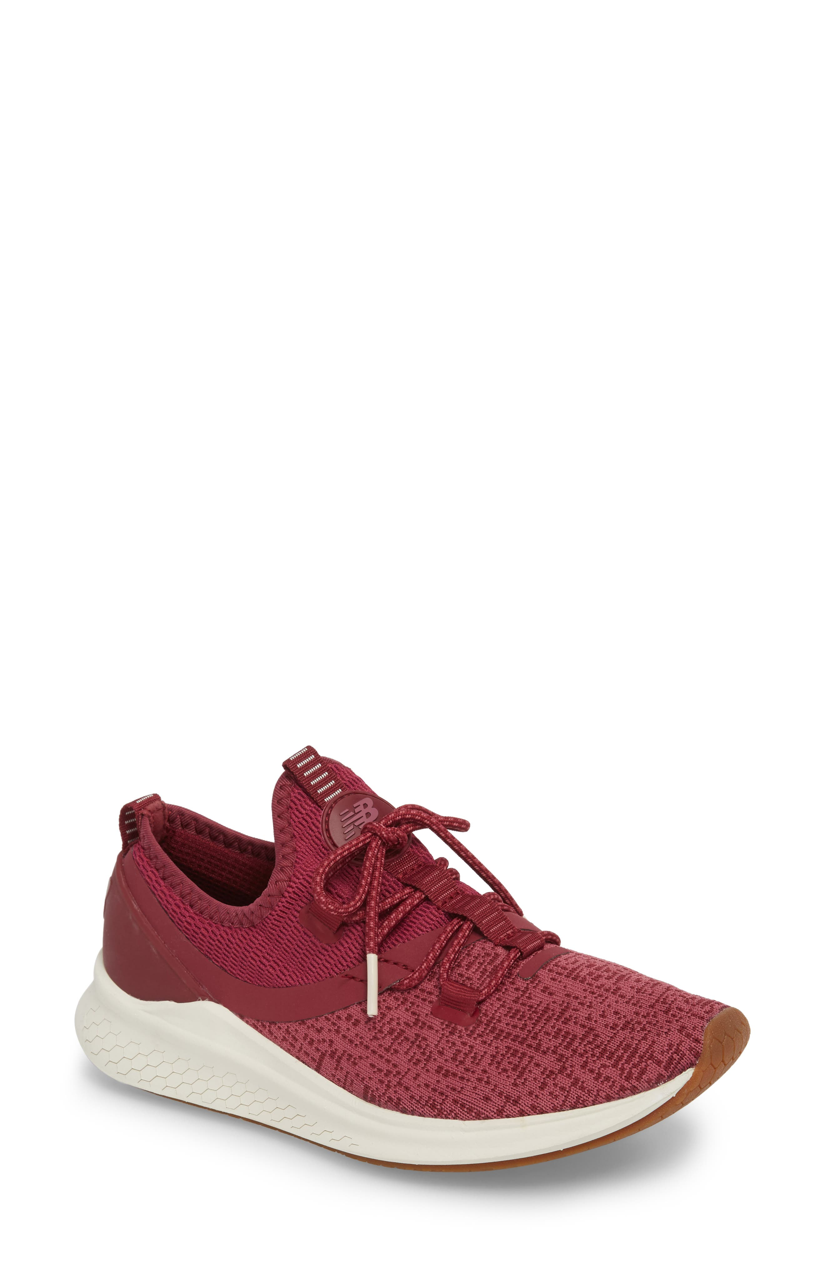 Fresh Foam Lazr Sport Running Shoe,                         Main,                         color, Purple