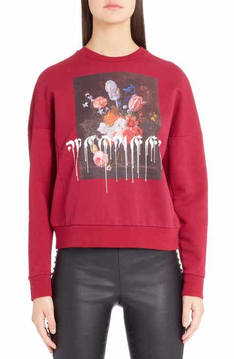 Alexander McQueen Paint Drip Graphic Sweatshirt By ALEXANDER MCQUEEN by ALEXANDER MCQUEEN Find