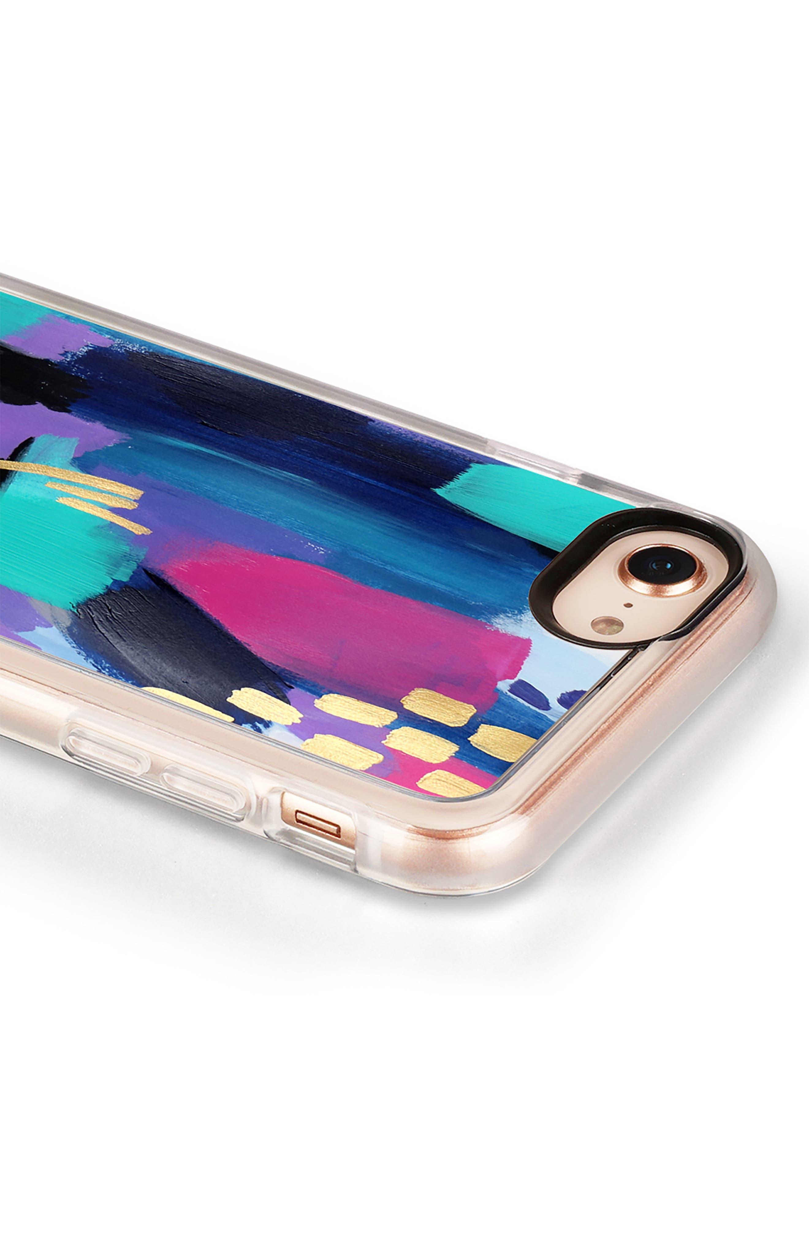 Glitz Glam iPhone 7/8 & 7/8 Plus Case,                             Alternate thumbnail 6, color,                             Multi