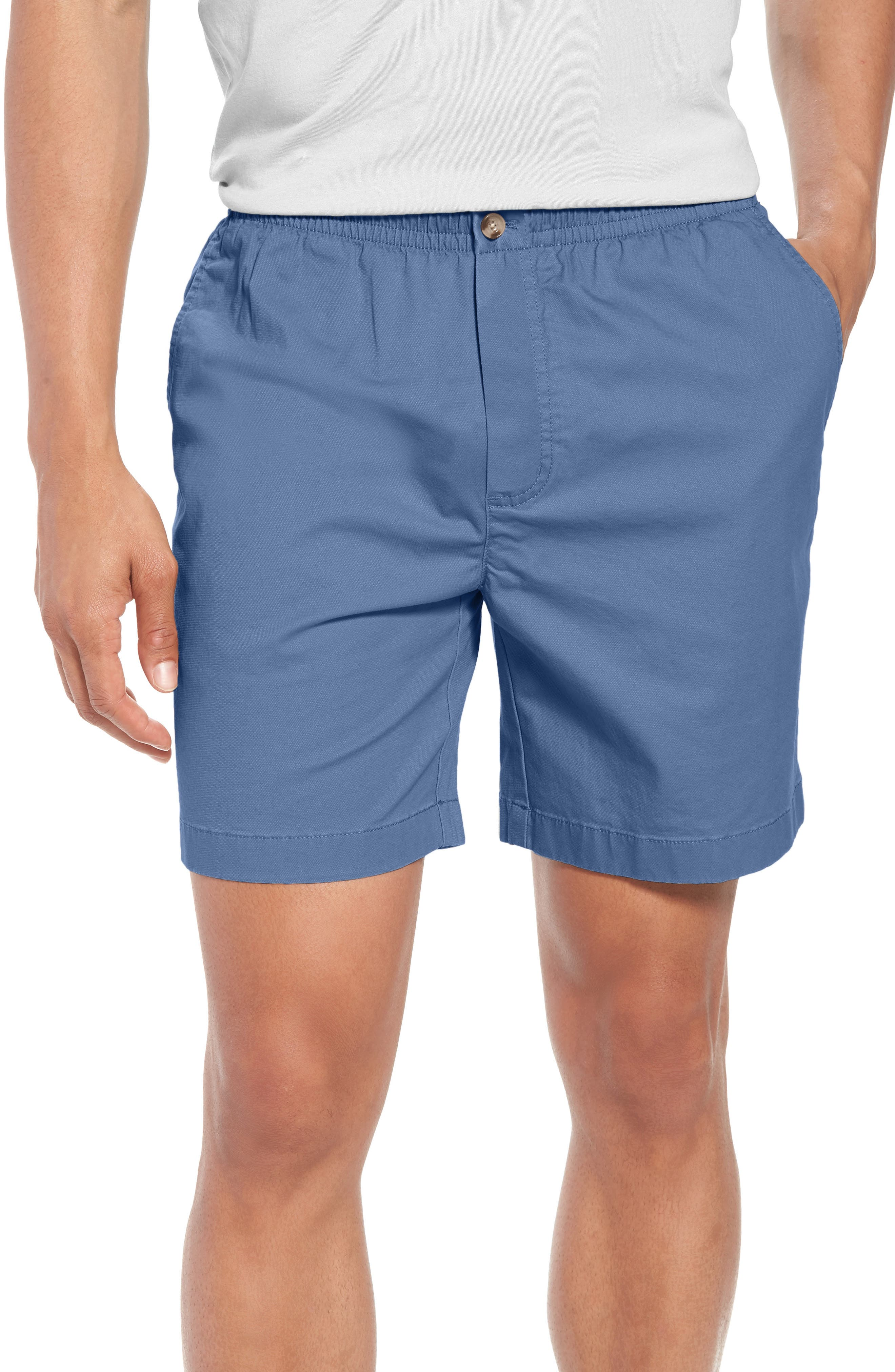 Jetty Stretch Cotton Shorts,                             Main thumbnail 1, color,                             Moonshine
