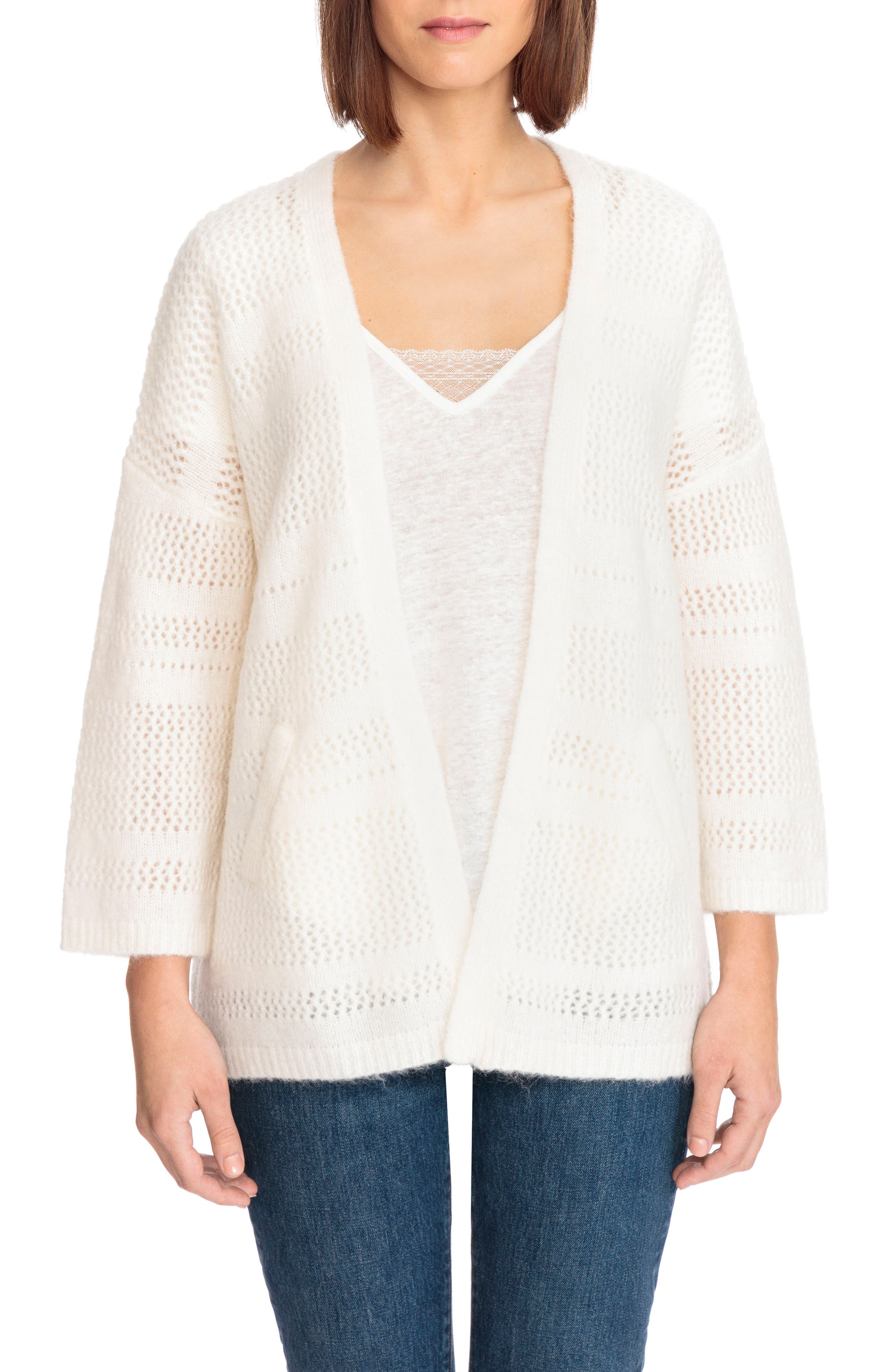 Firmin Cardigan,                             Main thumbnail 1, color,                             Off White