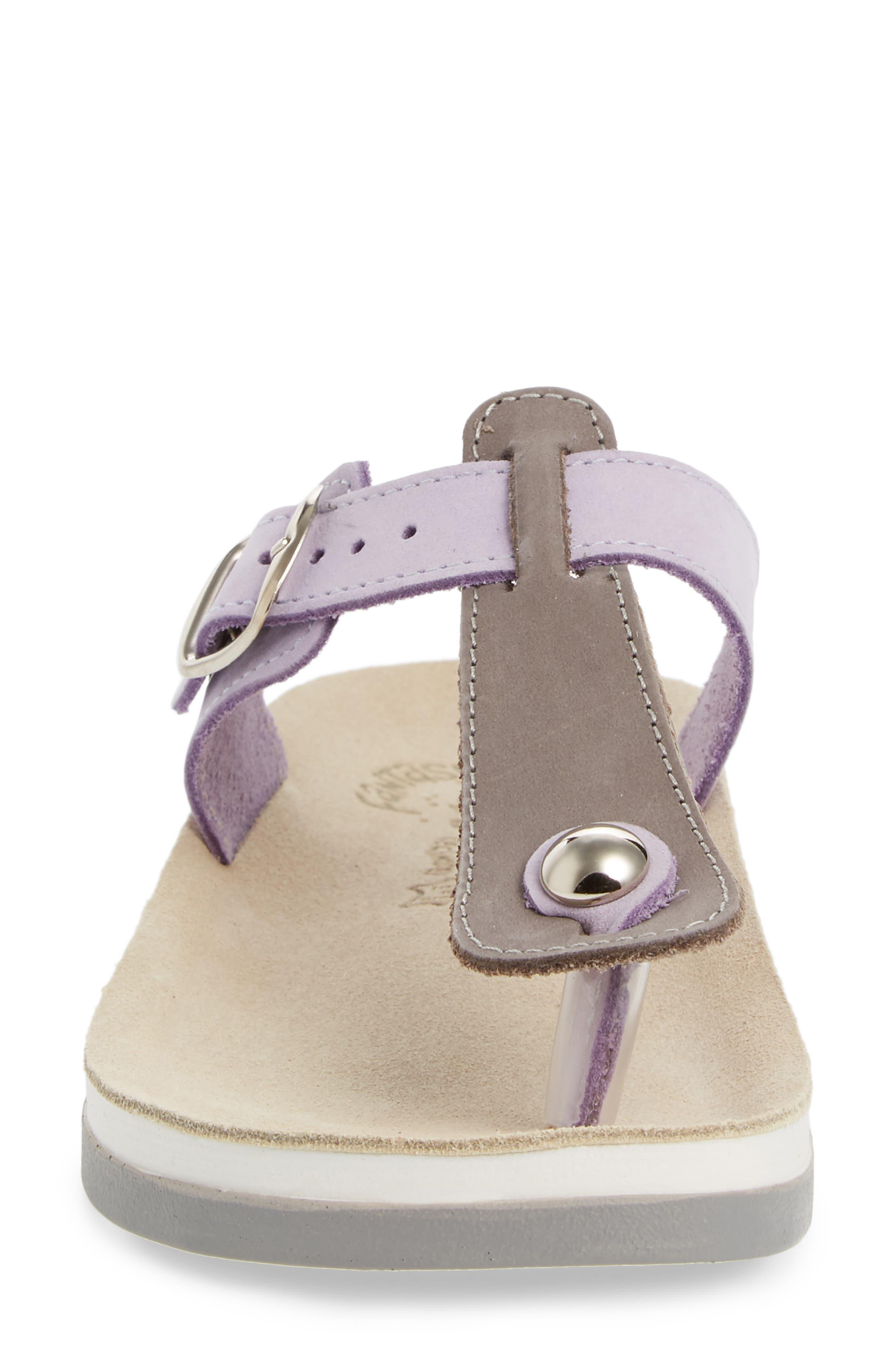 Viola Sandal,                             Alternate thumbnail 4, color,                             Lila Grey Leather