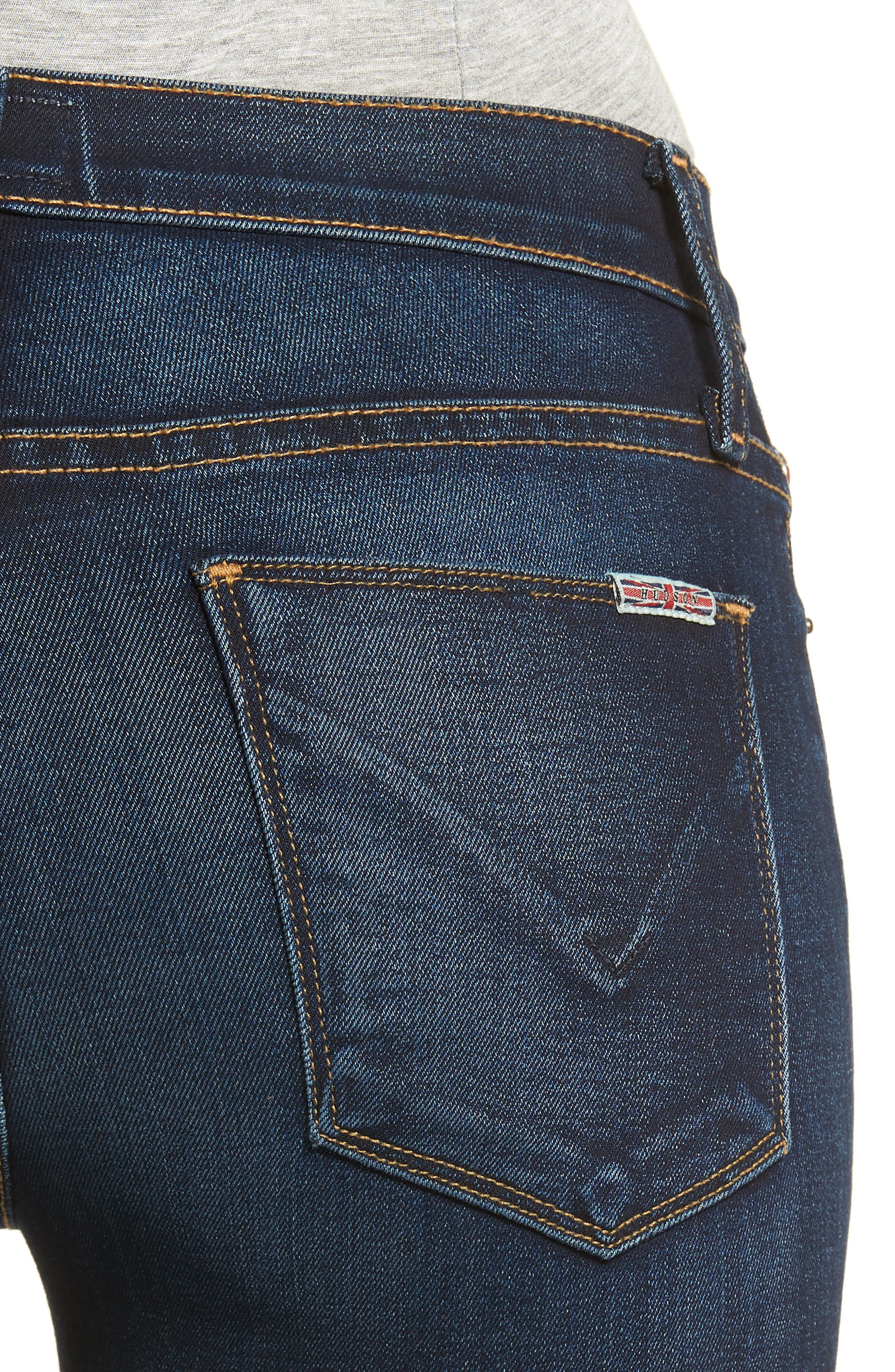 'Nico' Ankle Skinny Jeans,                             Alternate thumbnail 4, color,                             Corps