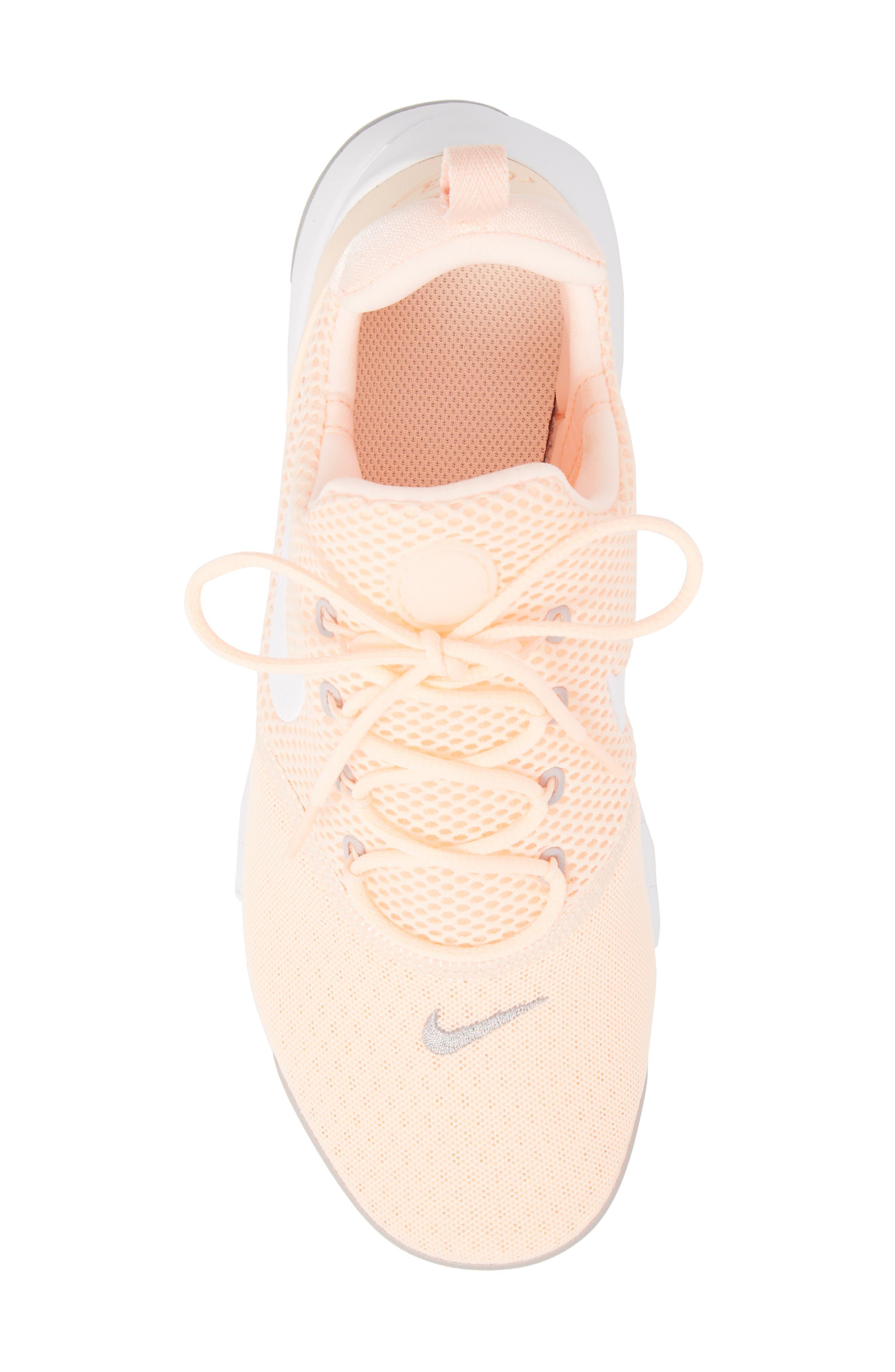 Presto Fly Sneaker,                             Alternate thumbnail 6, color,                             Crimson Tint/ White/ Grey