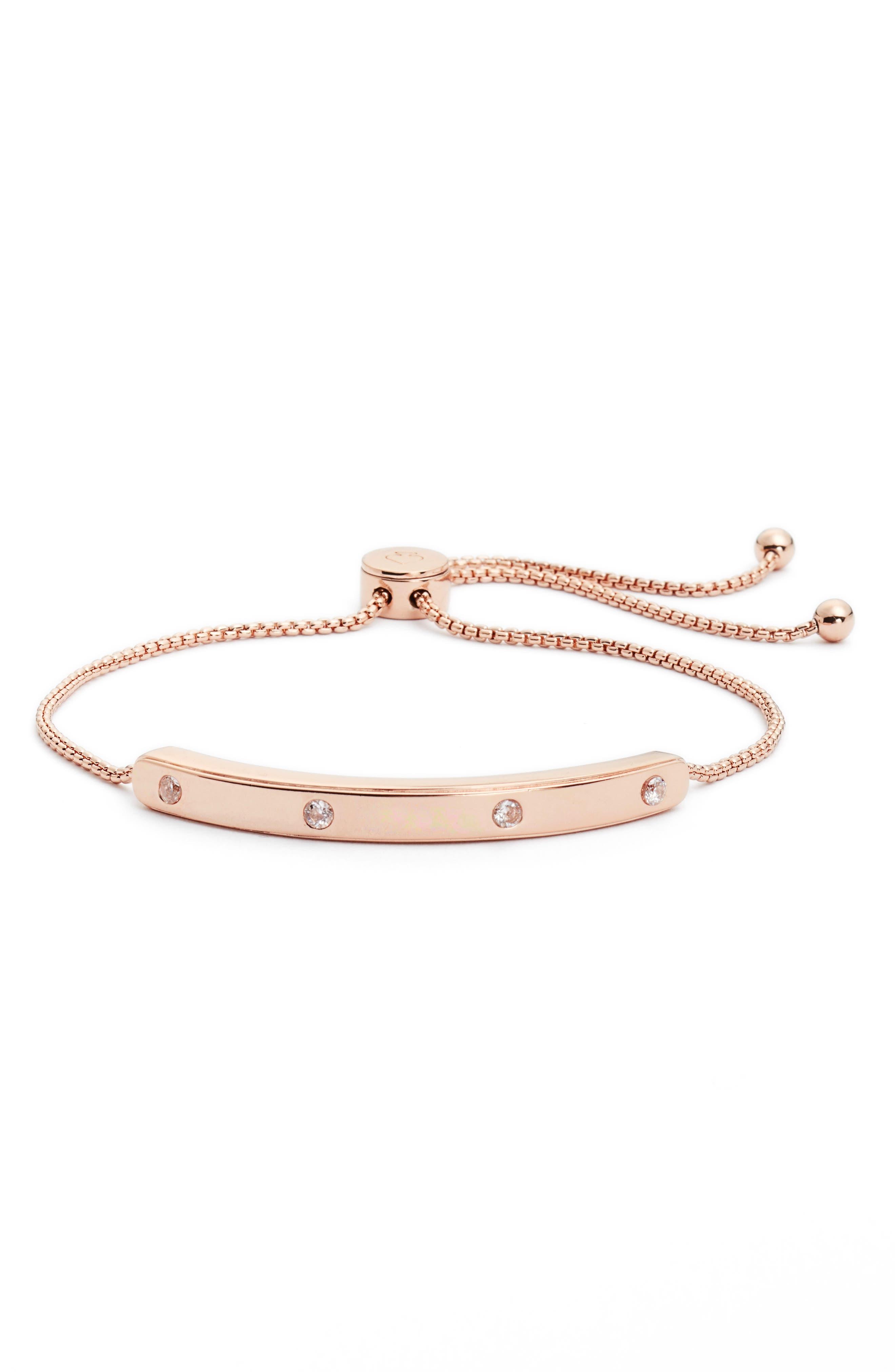 kate spade set in stone slide bracelet