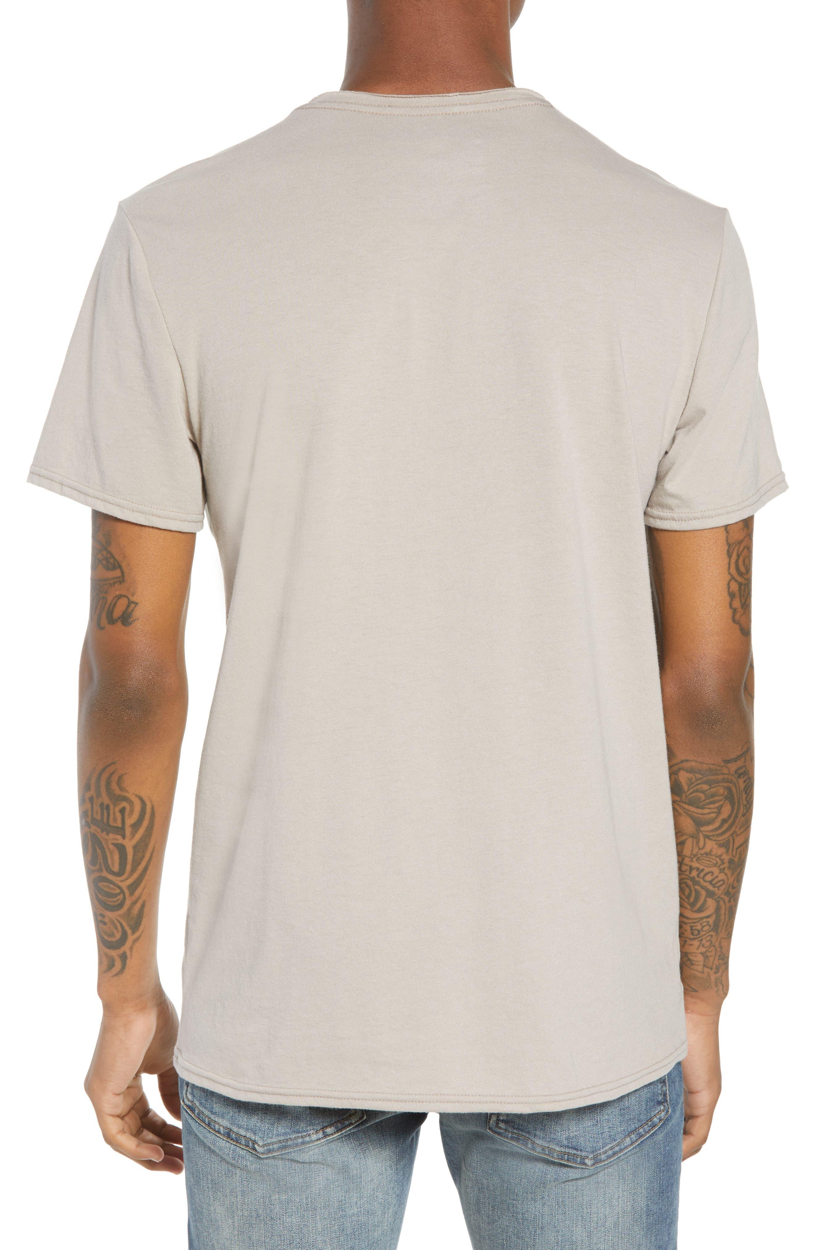 Tri-Splice T-Shirt,                             Alternate thumbnail 2, color,                             Beige Navy Sun Splice