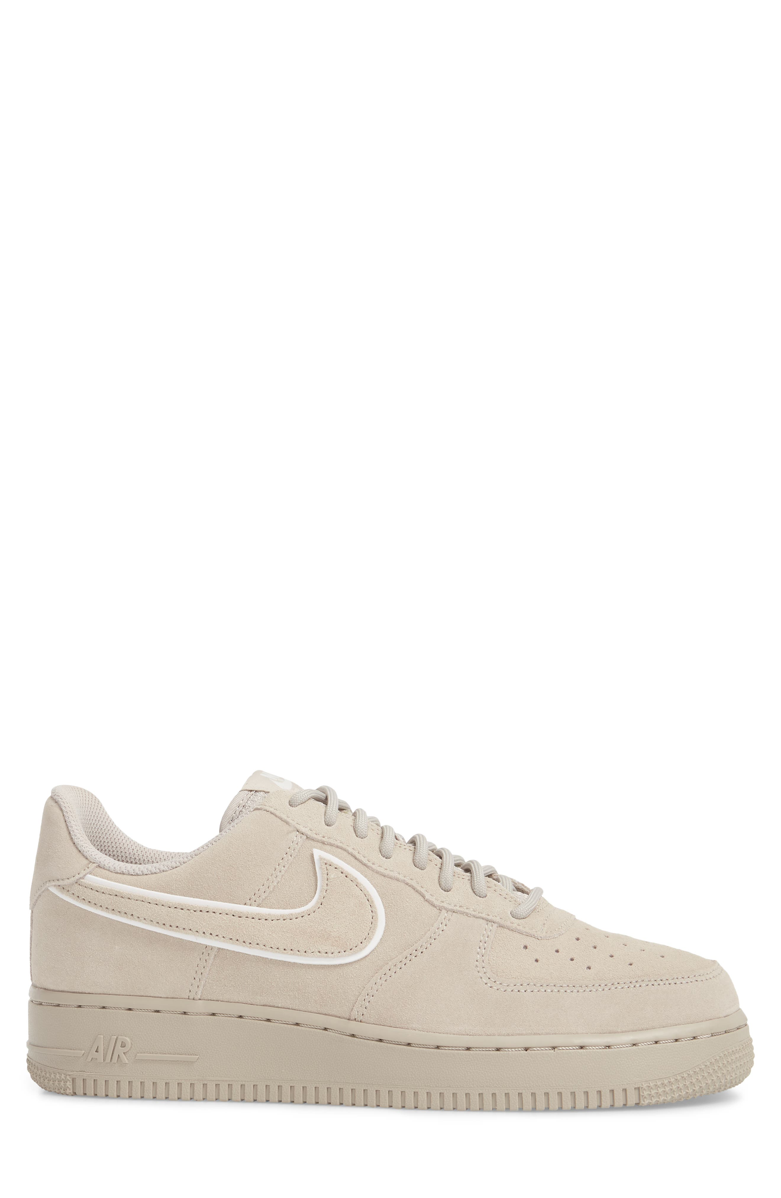 Air Force 1 '07 Low LV8 Sneaker,                             Alternate thumbnail 3, color,                             Moon Particle/ Sepia Stone