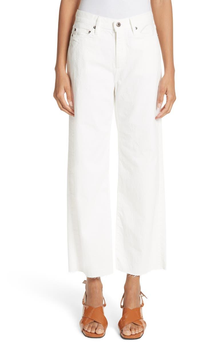 Lamere Wide Leg Crop Jeans