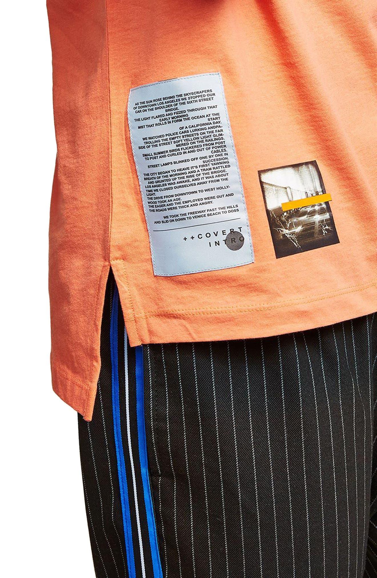 Alternate Image 4  - Topman Ensign Graphic T-Shirt