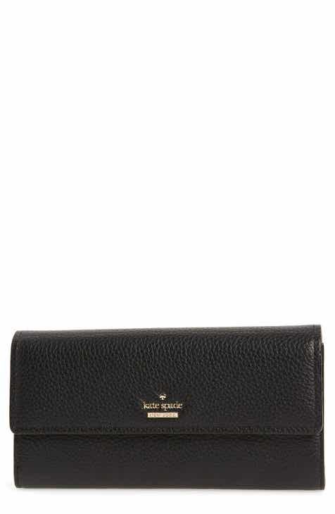 Kate spade iphone cases tech accessories for women nordstrom kate spade new york oakwood street kinsley pebbled leather wallet reheart Gallery