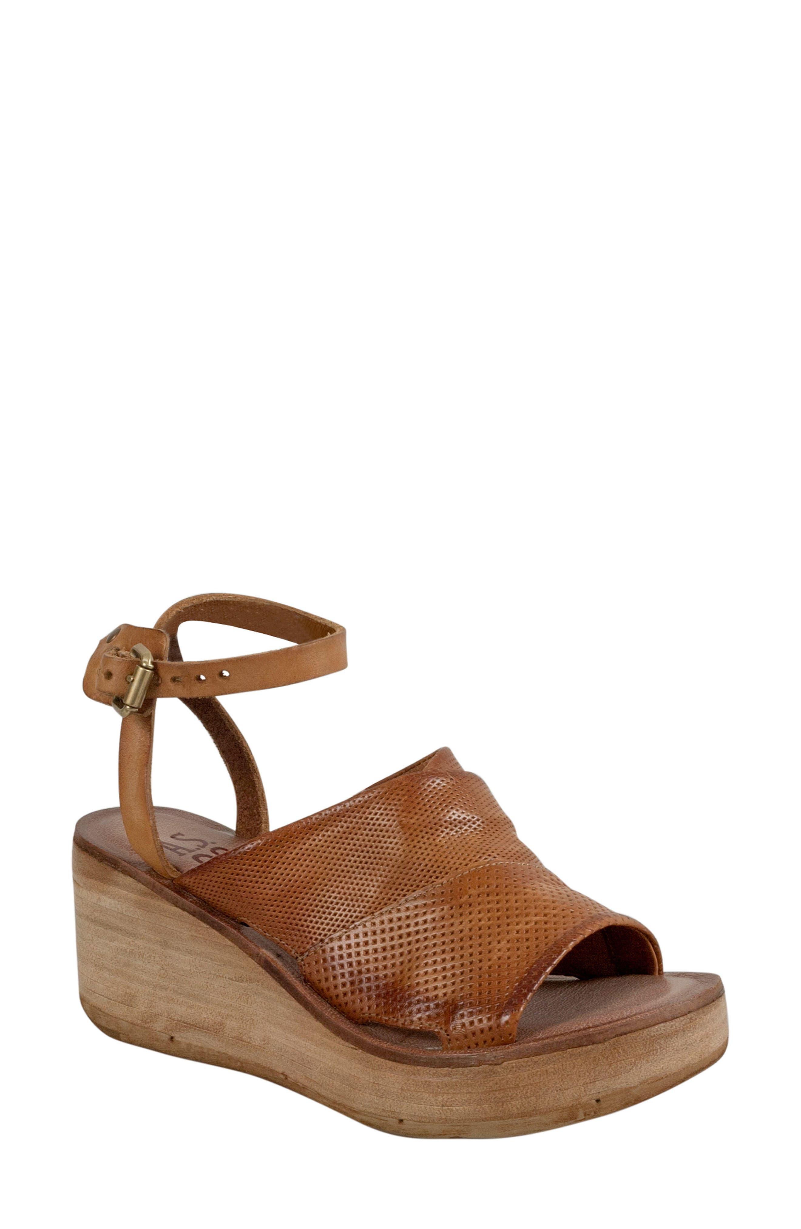 A.S.98 Niall Platform Wedge Sandal (Women)