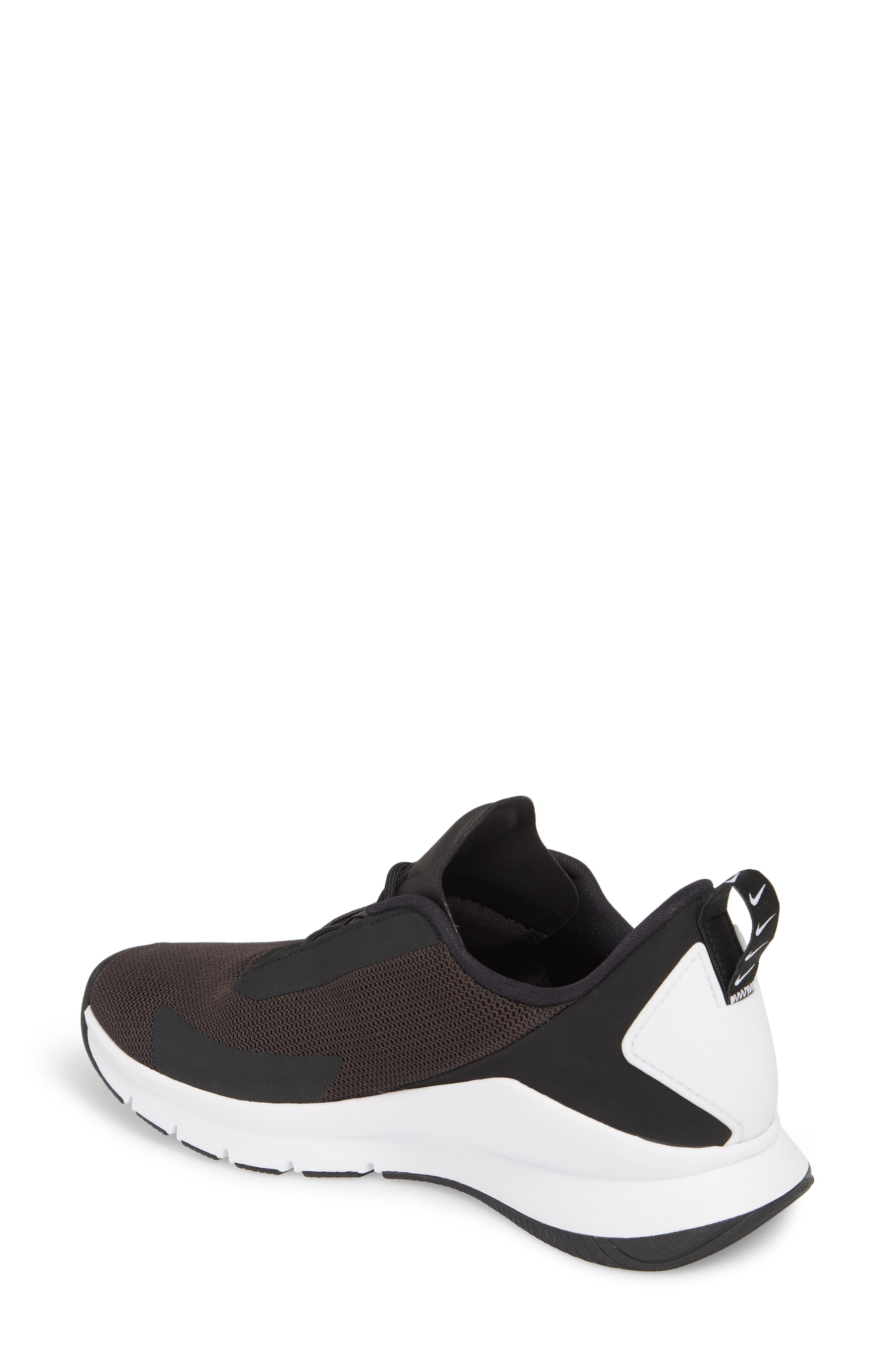 Rivah Sneaker,                             Alternate thumbnail 2, color,                             Black/ Black/ White