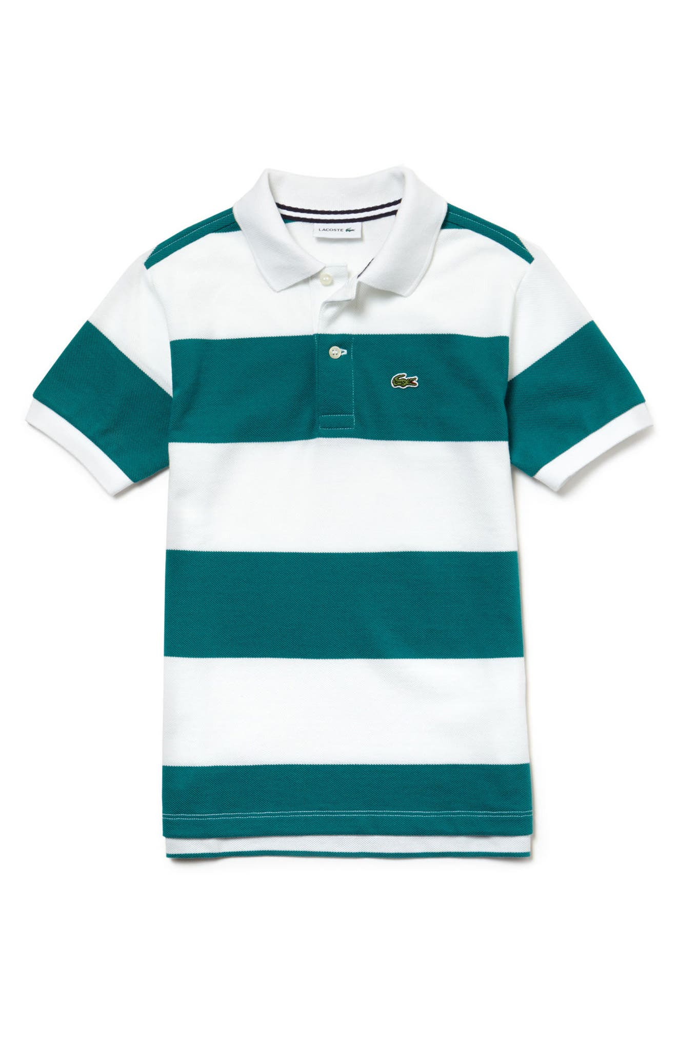 Lacoste Stripe Piqué Polo (Toddler Boys & Little Boys)