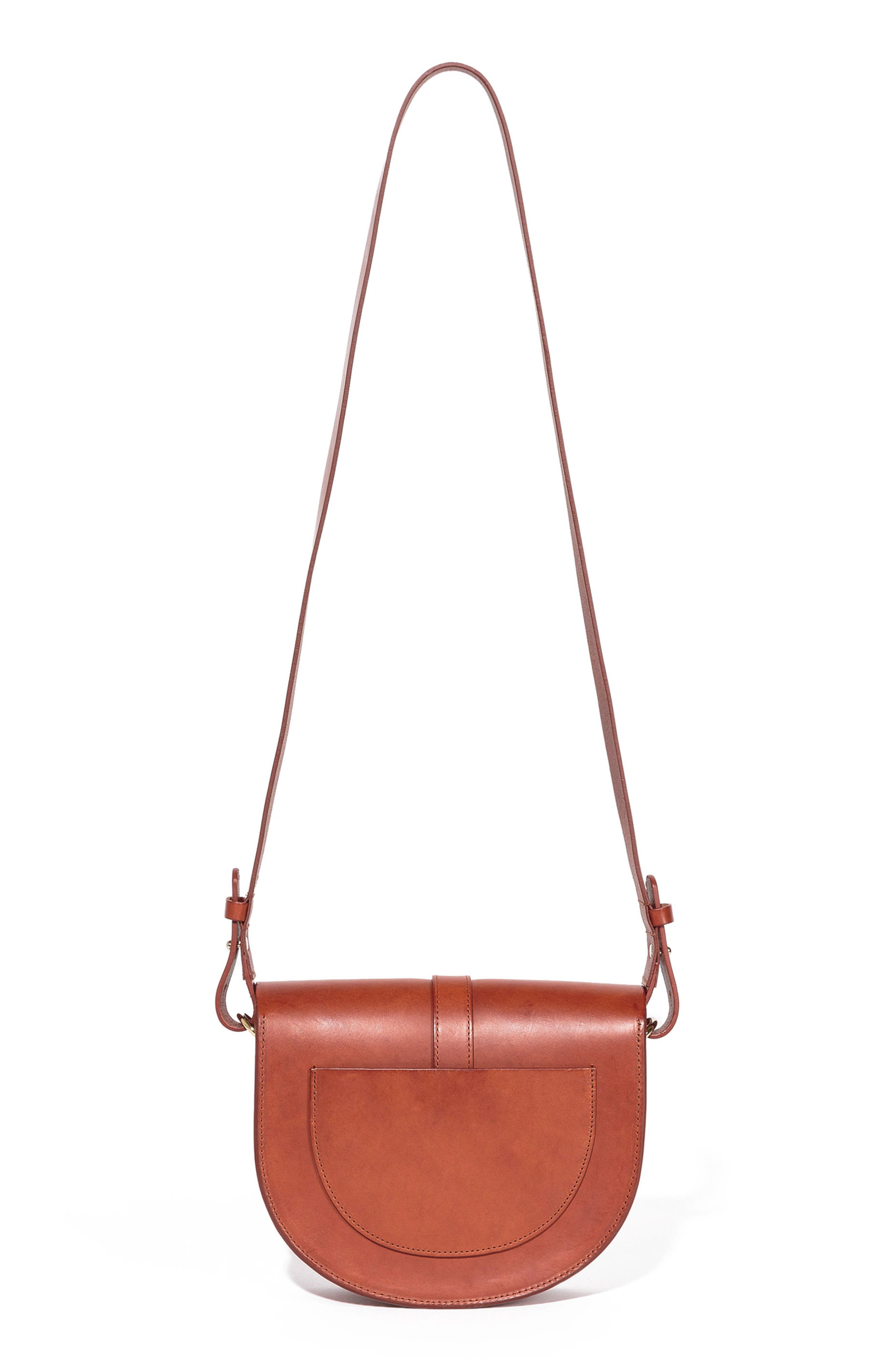 Claude Crossbody Bag,                             Alternate thumbnail 3, color,                             Chocolate