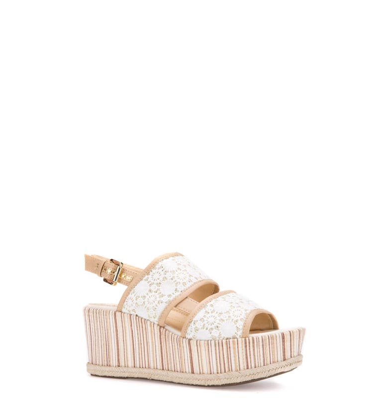 Geox SAKELY PLATFORM WEDGE SANDAL