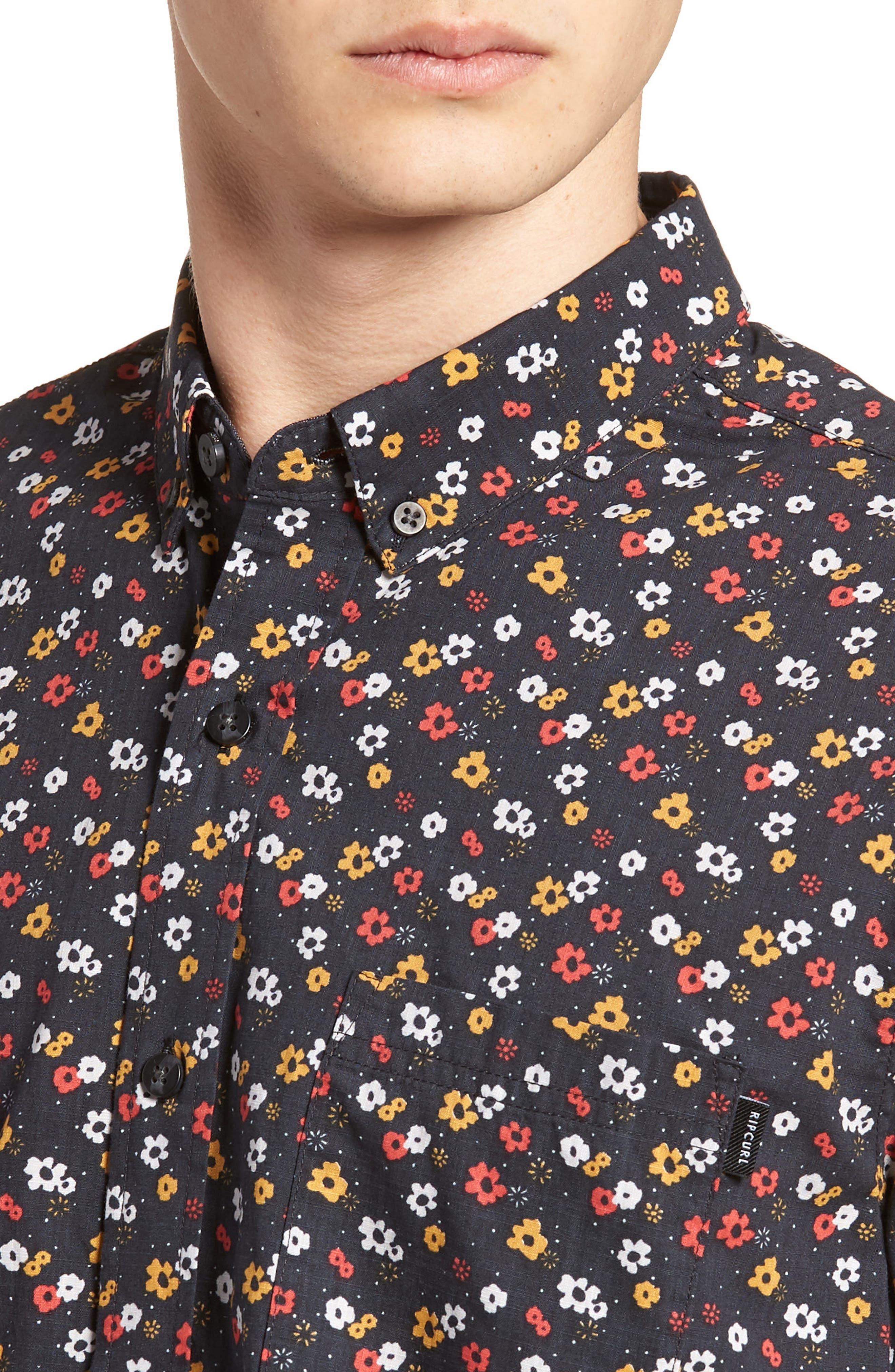 Alternate Image 4  - Rip Curl Scopic Woven Shirt