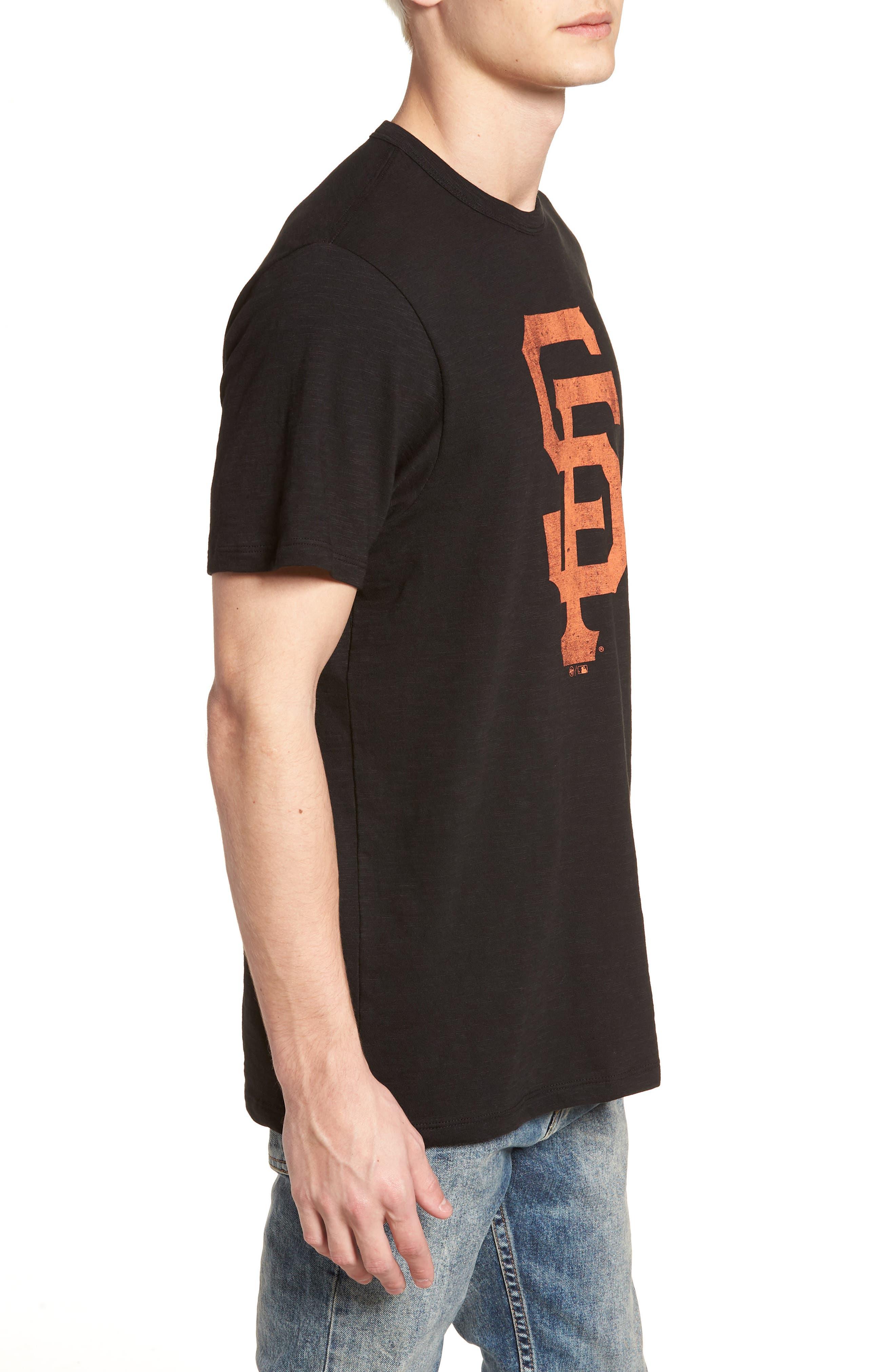 Grit Scrum San Francisco Giants T-Shirt,                             Alternate thumbnail 3, color,                             Jet Black