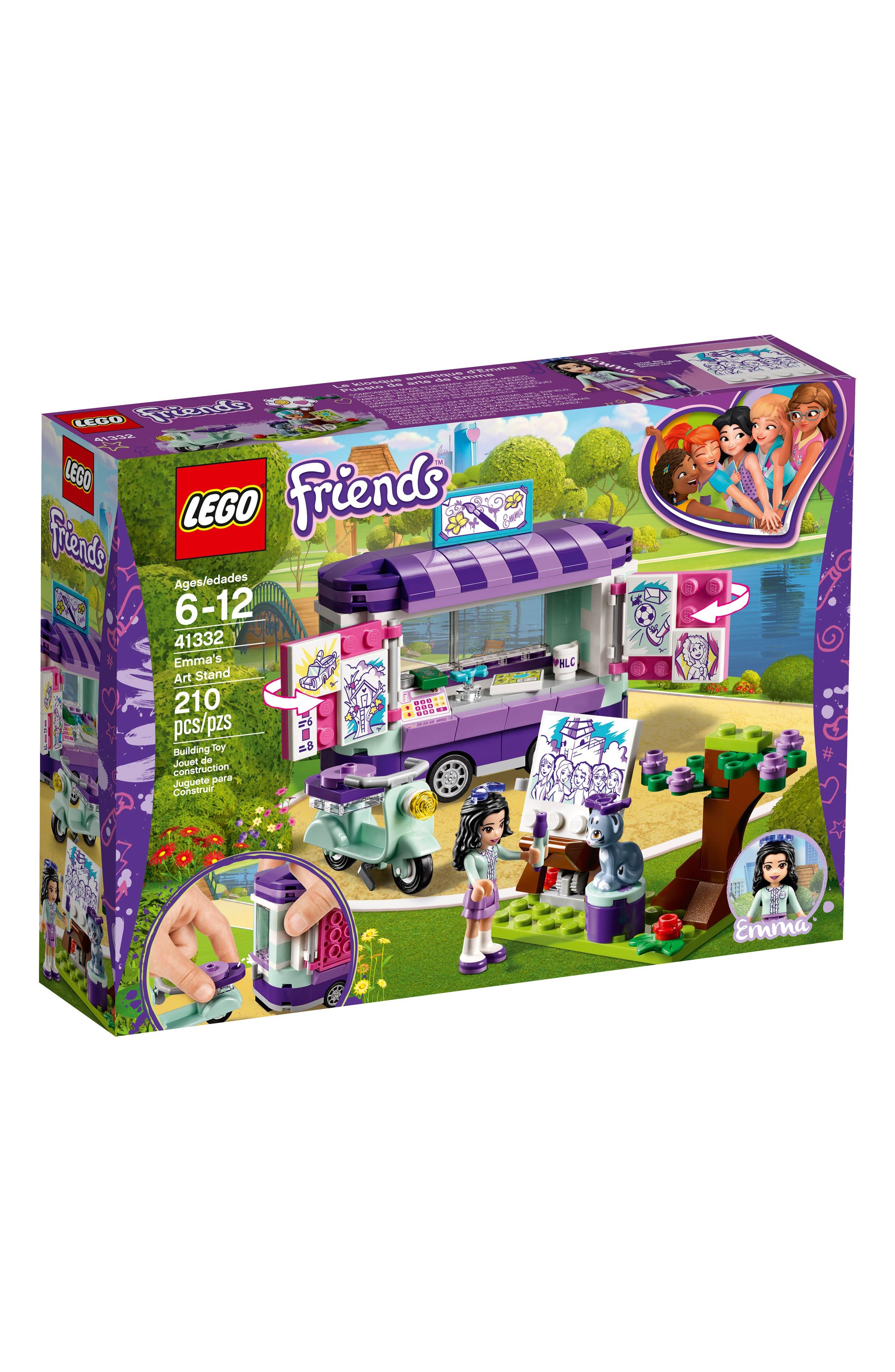 LEGO Friends Emma's Art Stand Play Set - 41332,                             Main thumbnail 1, color,                             Multi