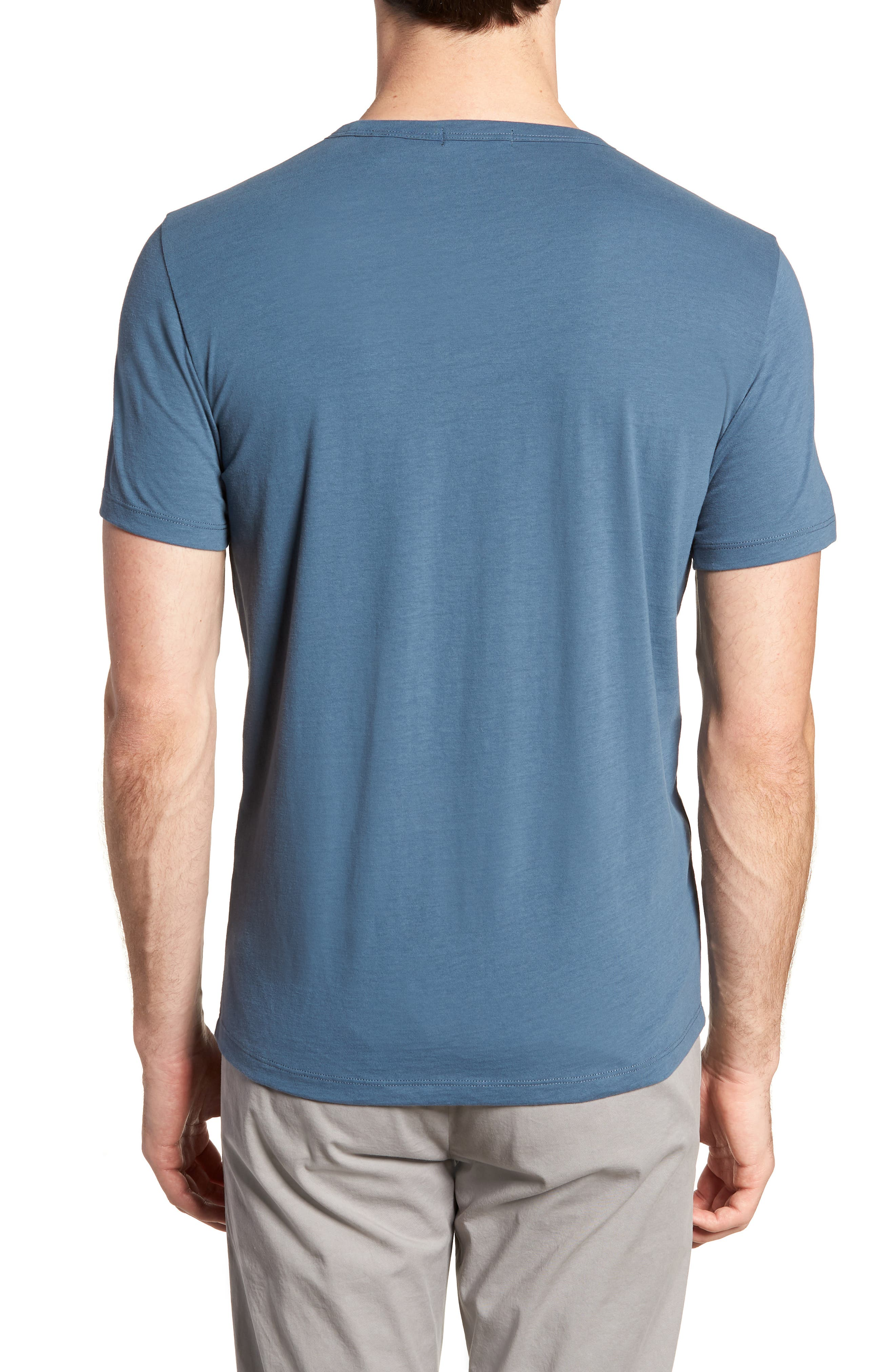 Essential Regular Fit T-Shirt,                             Alternate thumbnail 2, color,                             Hydro