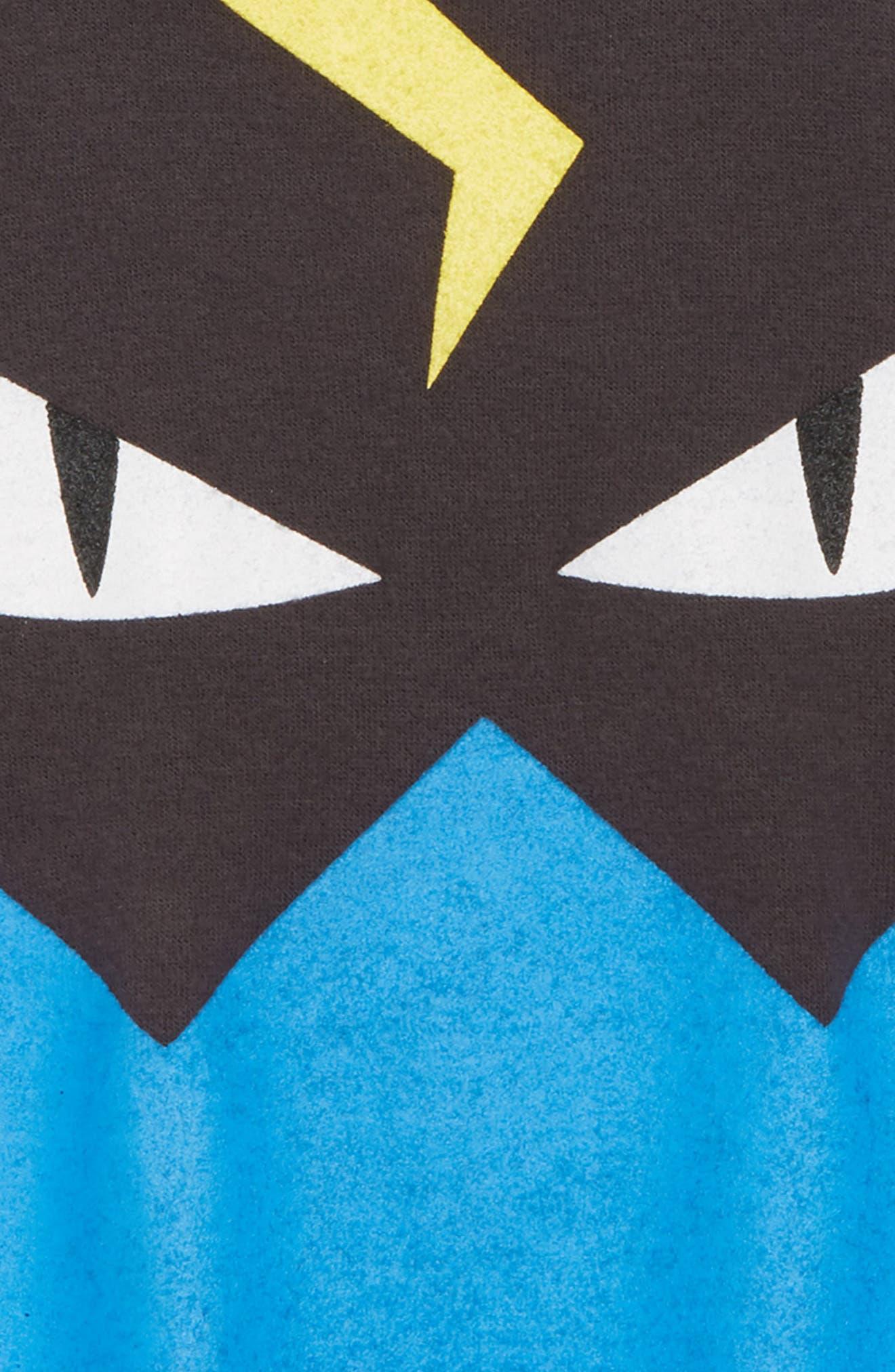 Monster Sweatshirt,                             Alternate thumbnail 2, color,                             Asphalt