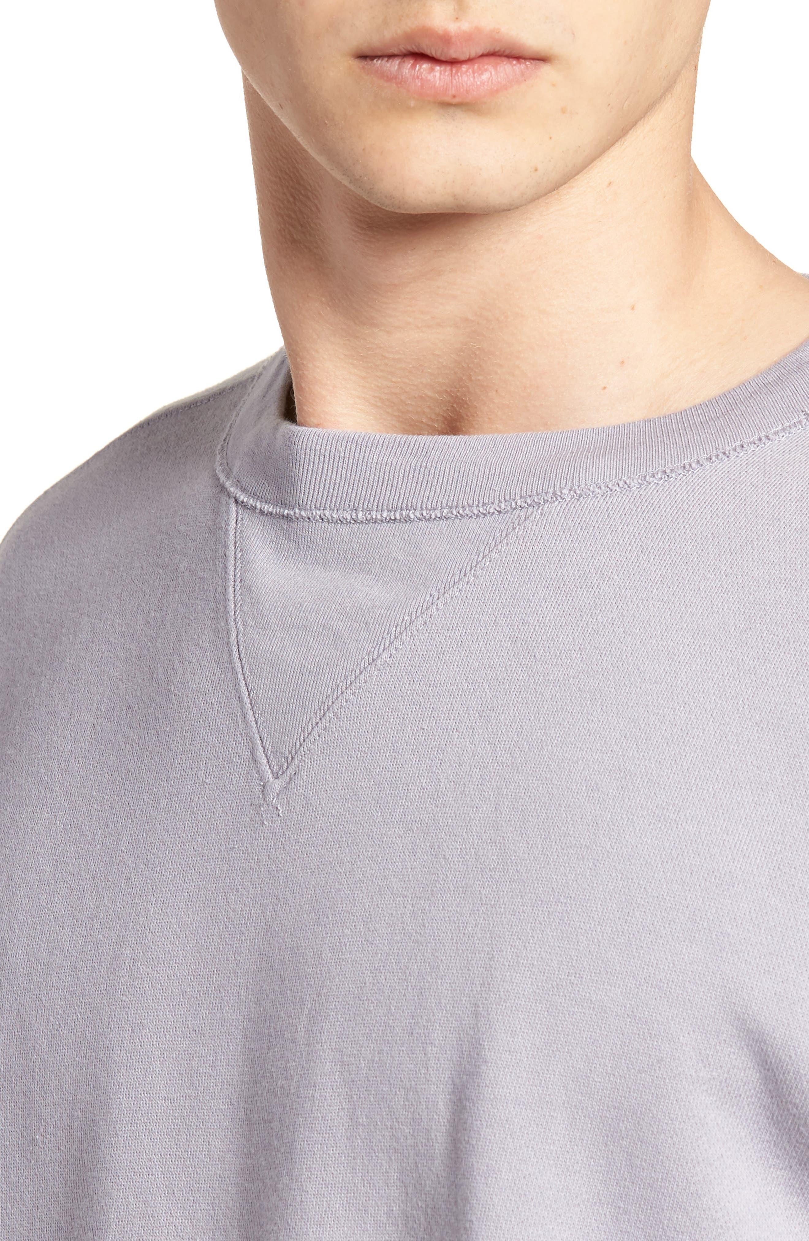 Bay Meadows Sweatshirt,                             Alternate thumbnail 4, color,                             Quiksilver