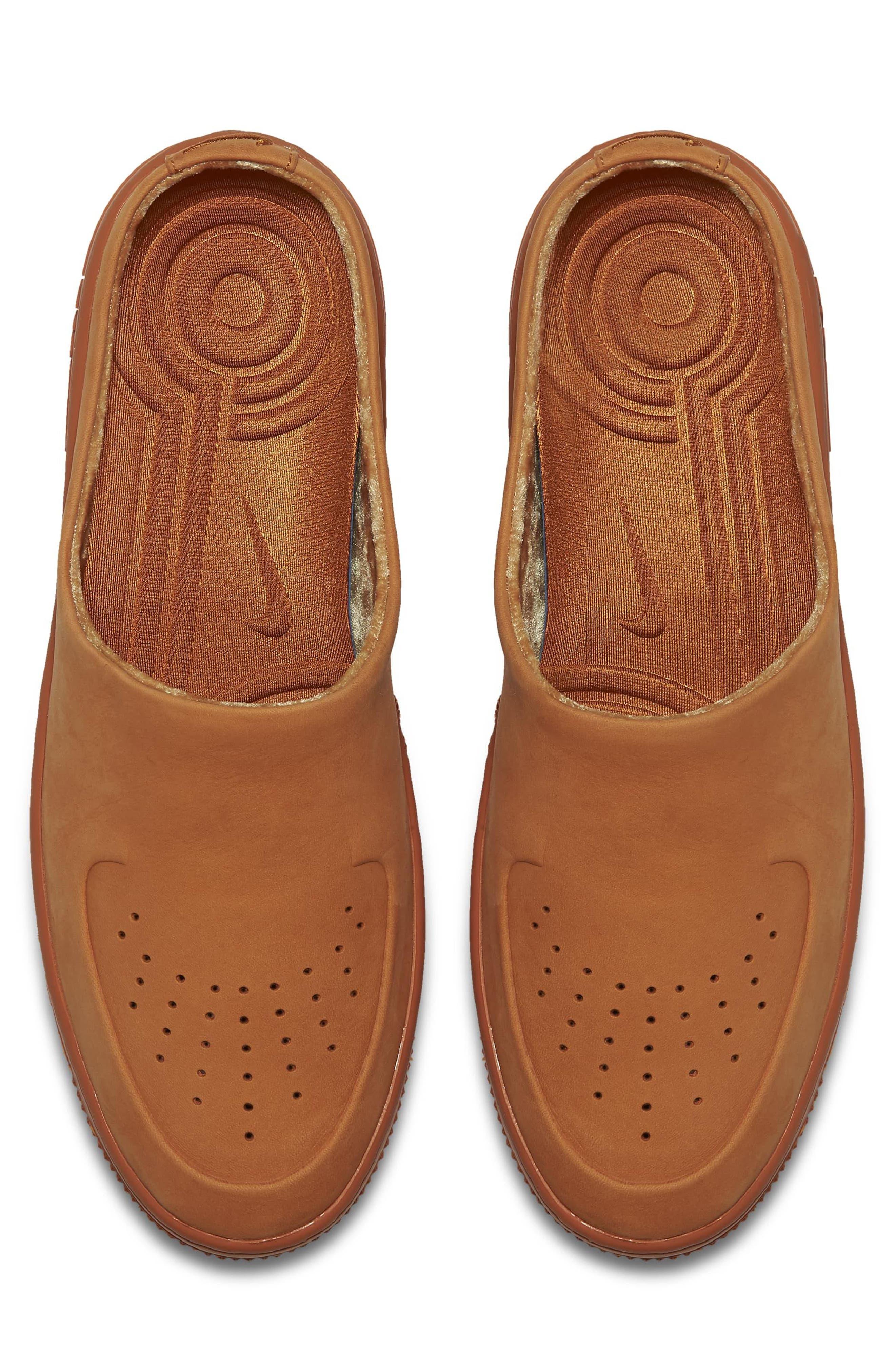 Air Force 1 Lover XX Slip-On Mule Sneaker,                             Alternate thumbnail 4, color,                             Cinder Orange