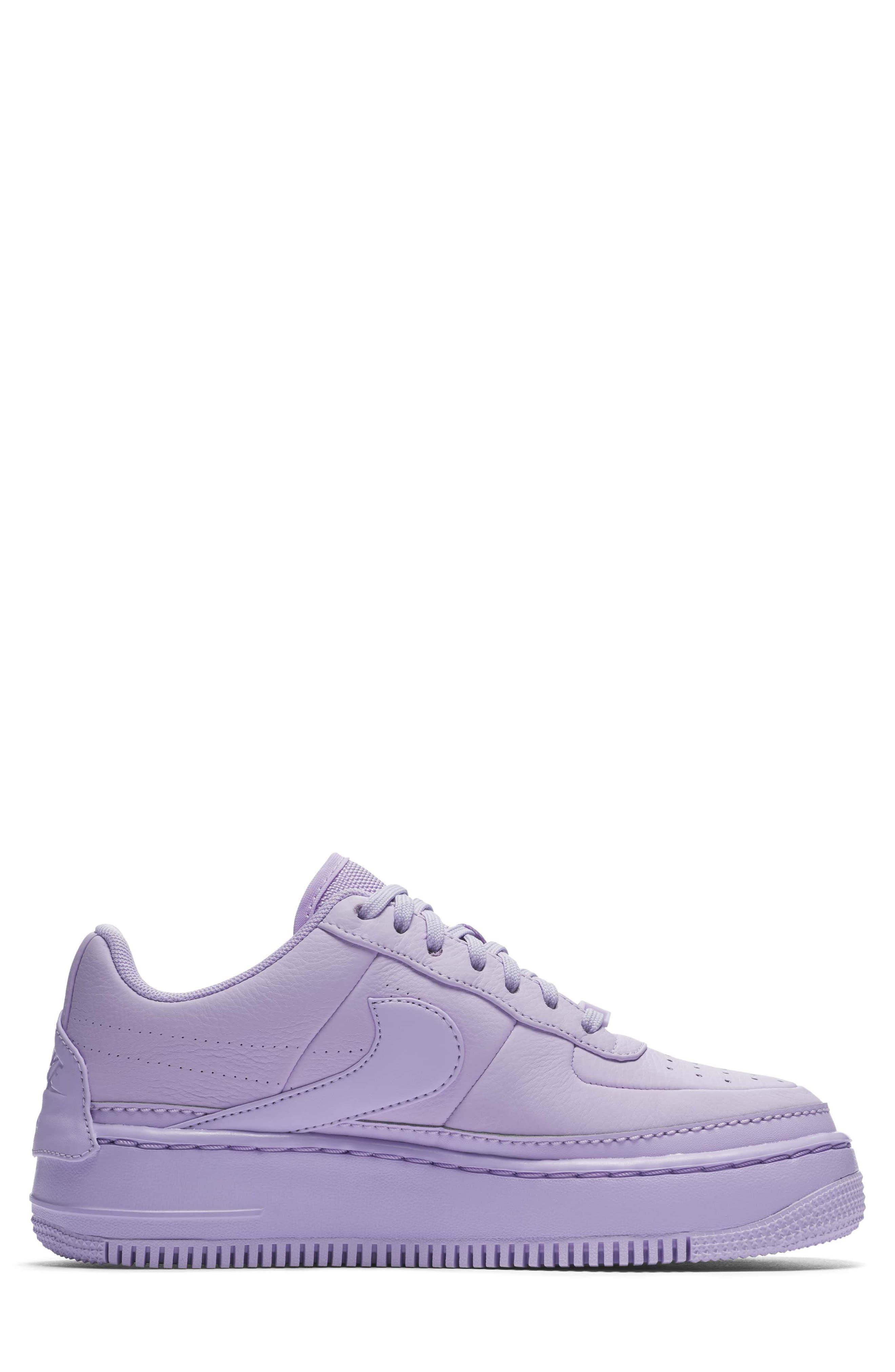 Air Force 1 Jester XX Sneaker,                             Alternate thumbnail 3, color,                             Violet Mist