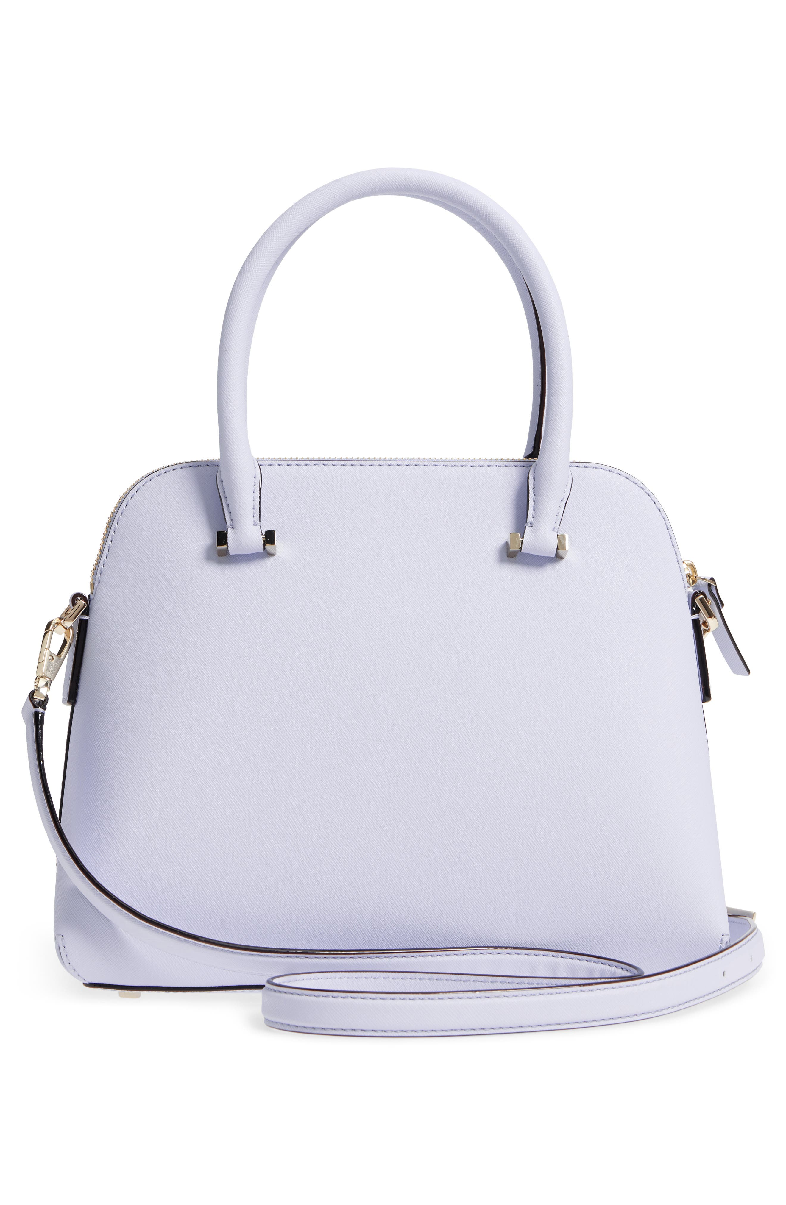 cameron street maise leather satchel,                             Alternate thumbnail 3, color,                             Morning Dawn