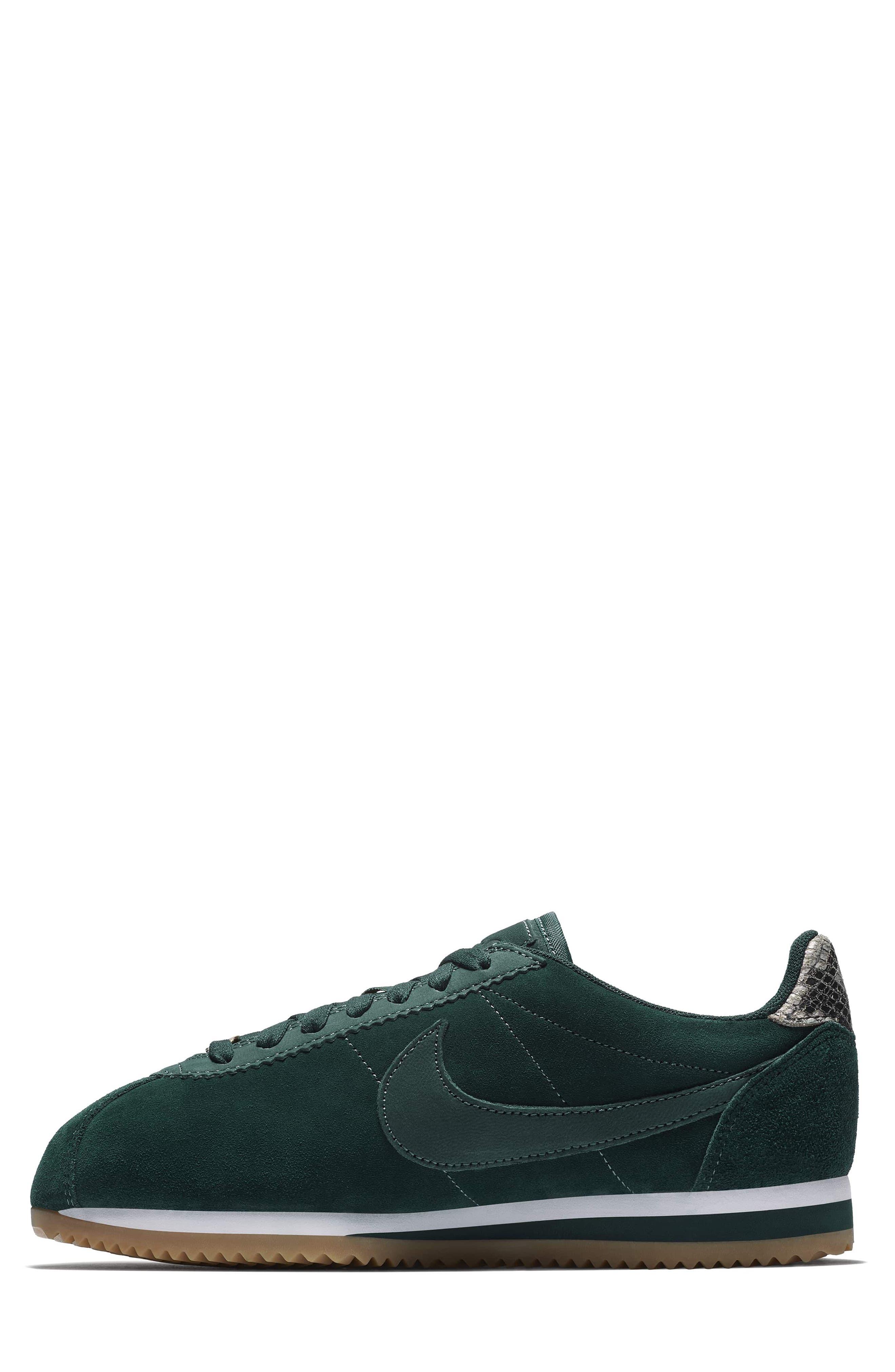 x A.L.C. Classic Cortez Sneaker,                             Alternate thumbnail 3, color,                             Midnight Spruce/ White
