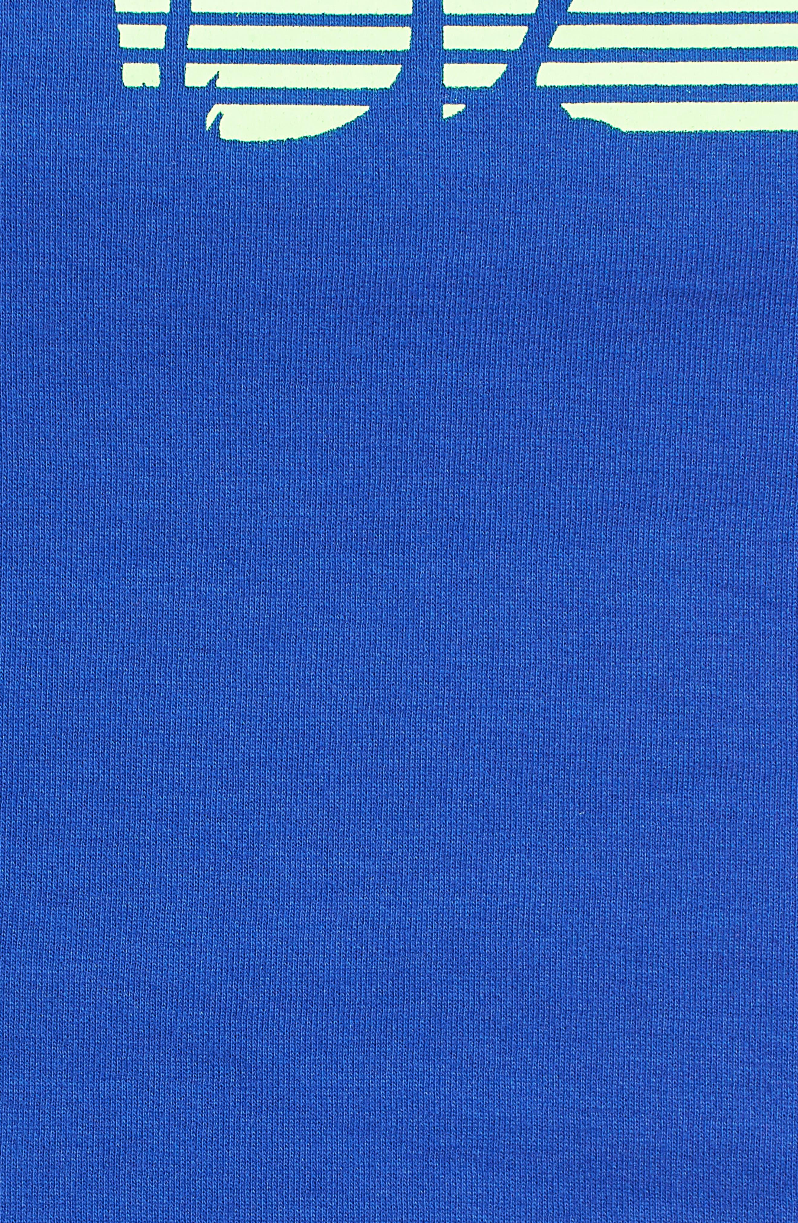FENTY PUMA by Rihanna Logo Crop Top,                             Alternate thumbnail 6, color,                             Dazzling Blue