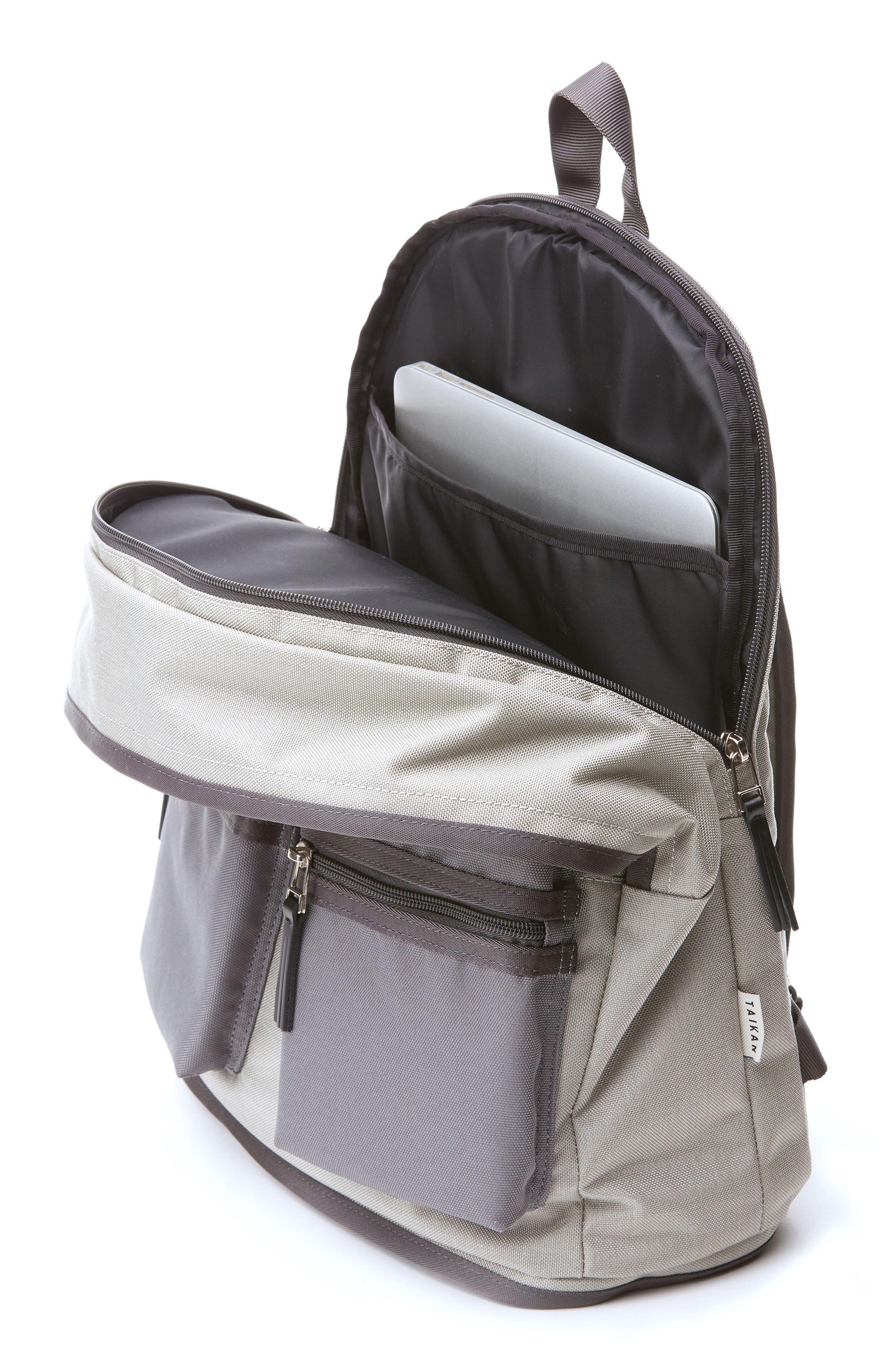 Spartan Backpack,                             Alternate thumbnail 3, color,                             Grey/ Grey