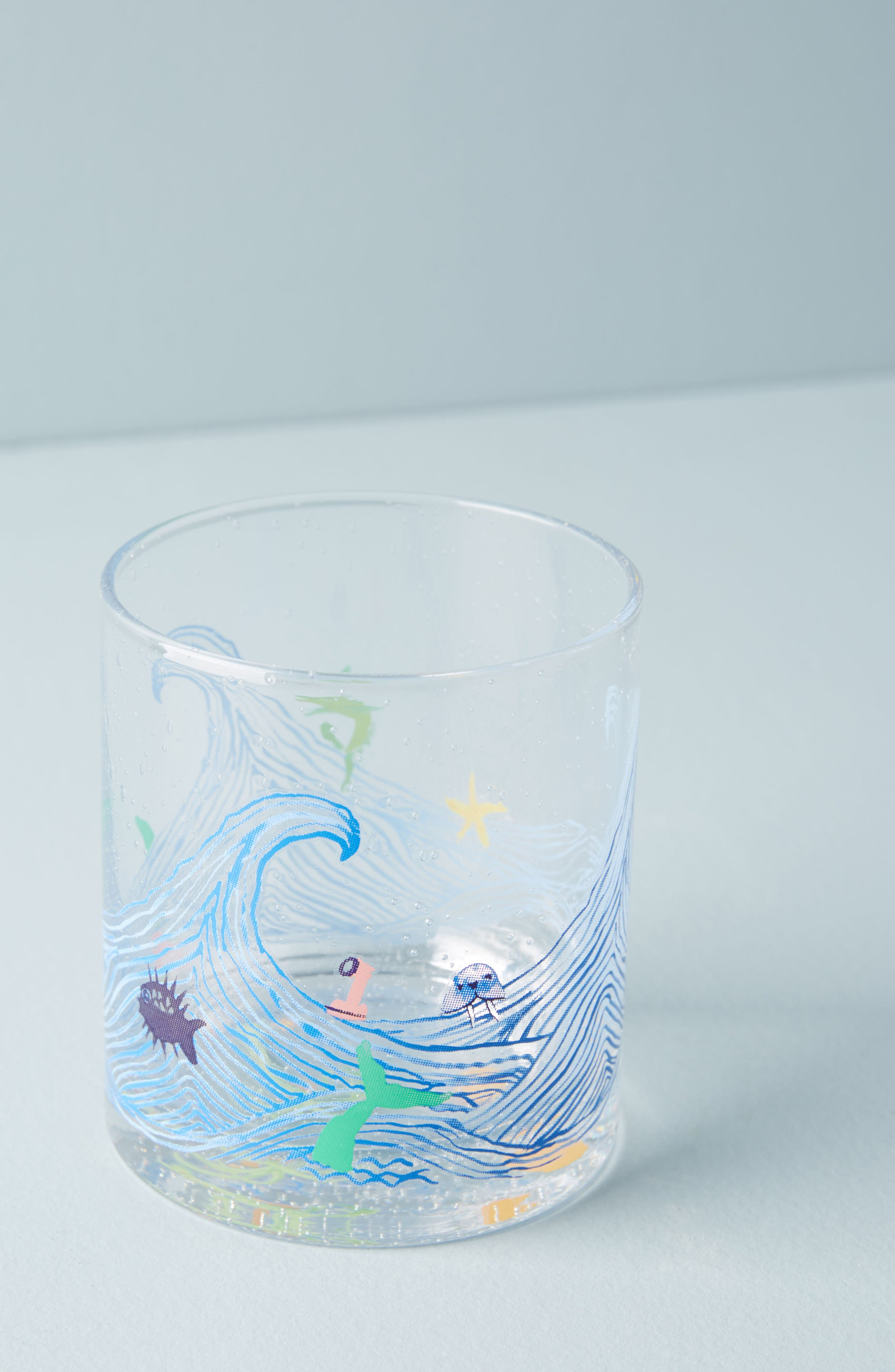 Boca Raton Glass,                         Main,                         color, Blue Combo