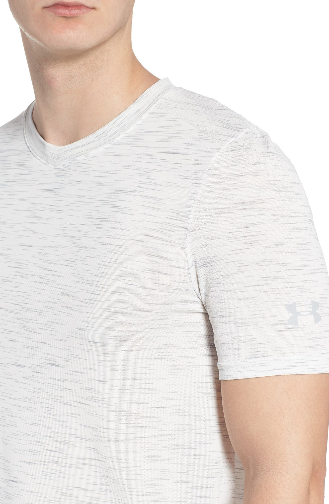 Regular Fit Threadborne T-Shirt,                             Alternate thumbnail 4, color,                             White