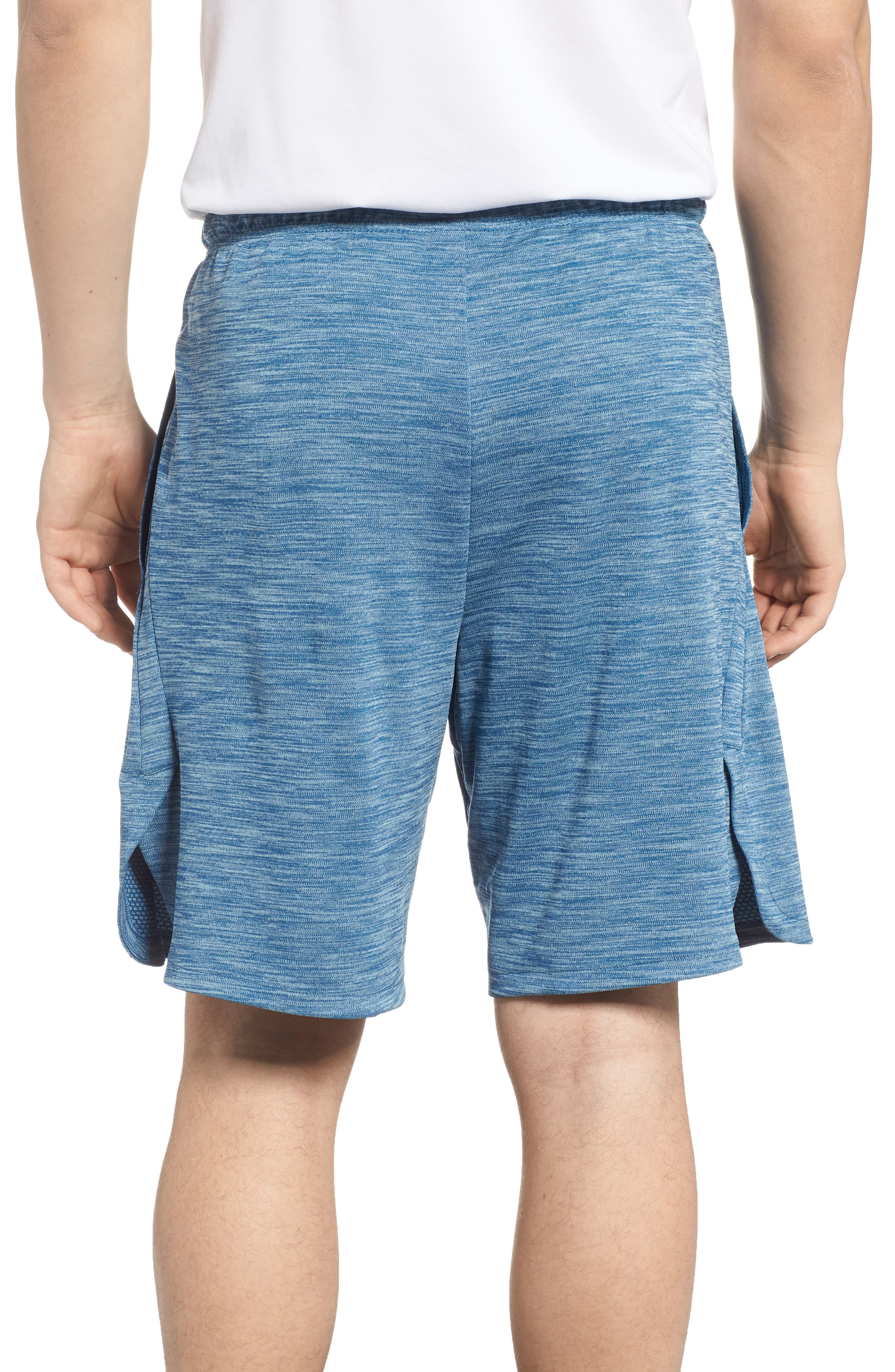 Dry Training Shorts,                             Alternate thumbnail 2, color,                             Blue Force/ Black