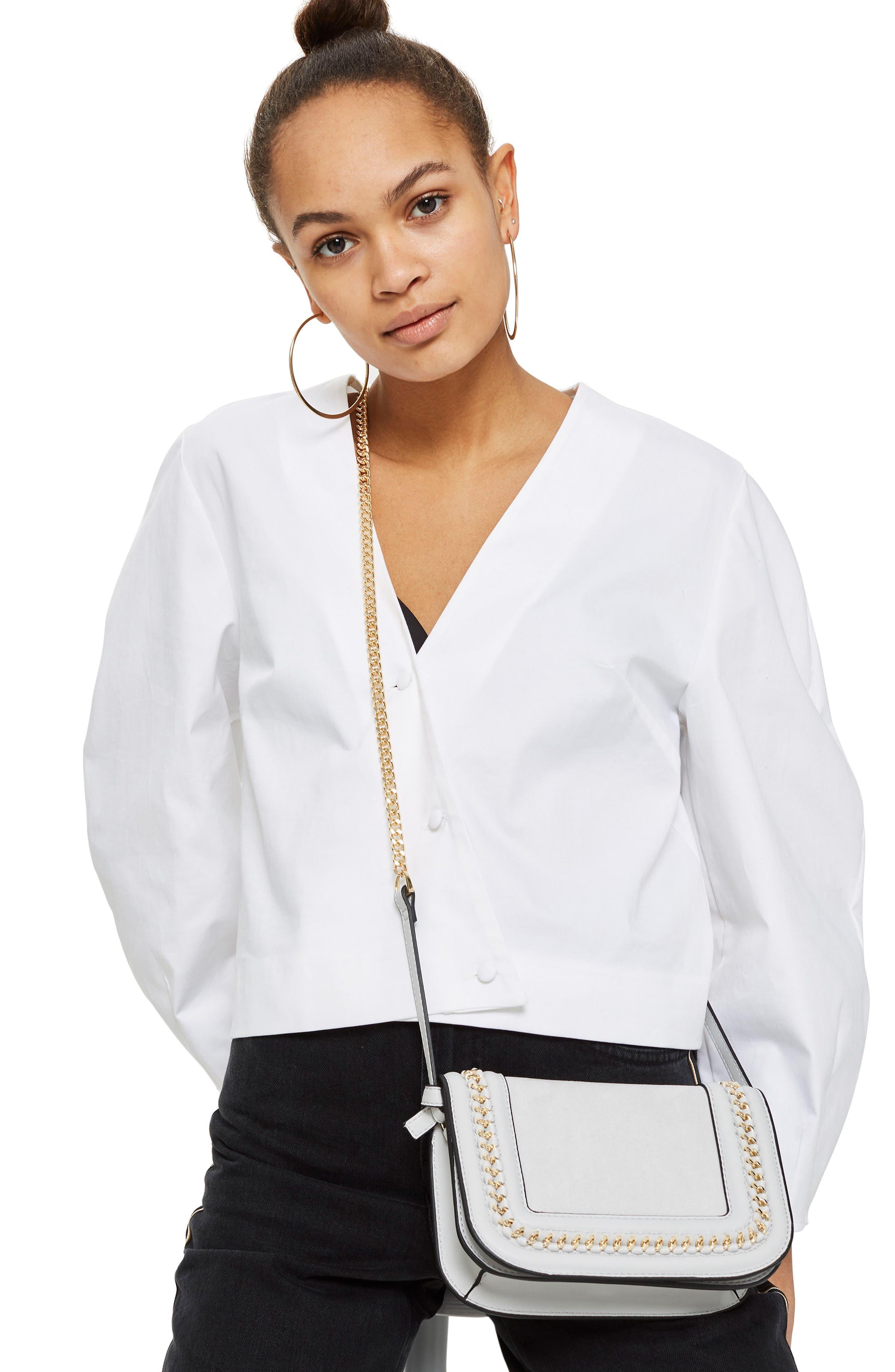 Alternate Image 2  - Topshop Carmel Chain Flap Crossbody Bag