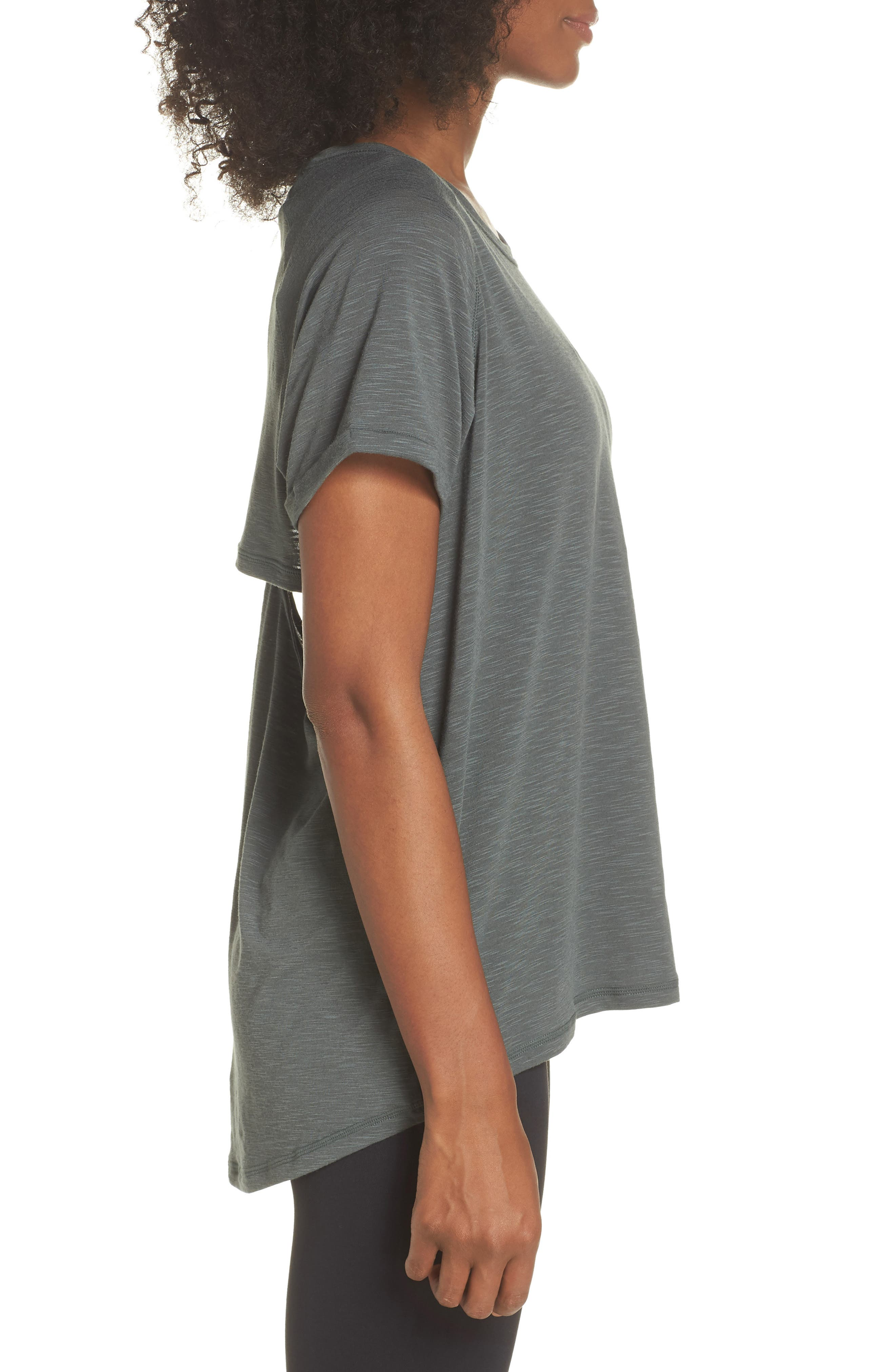 Back It Up Slub Tee,                             Alternate thumbnail 3, color,                             Grey Urban