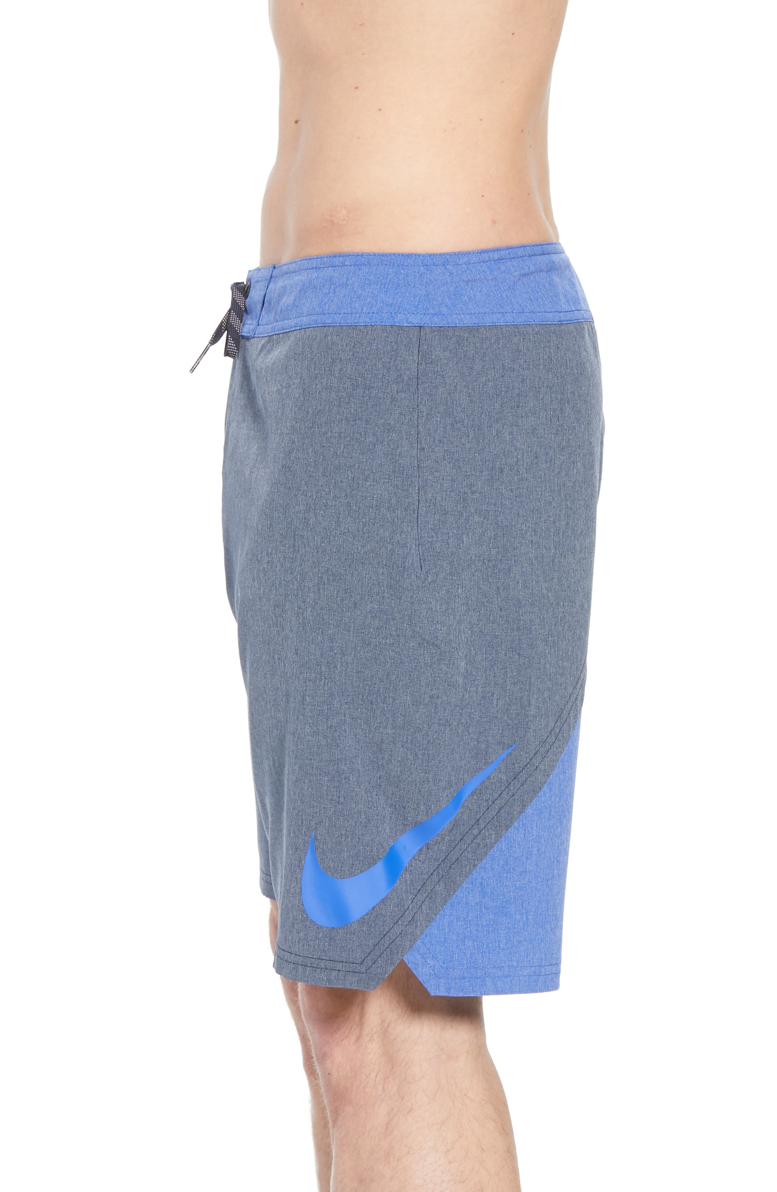 Vortex Board Shorts,                             Alternate thumbnail 4, color,                             Obsidian