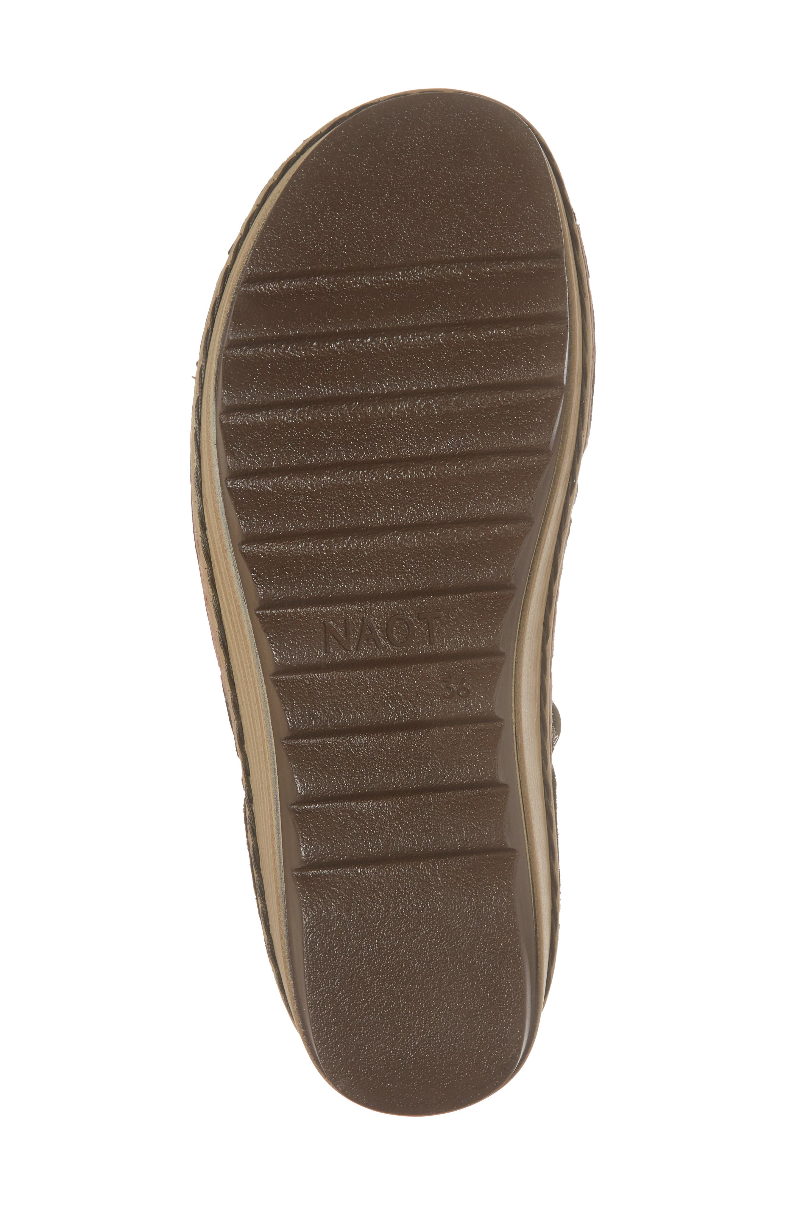 Yarrow Sandal,                             Alternate thumbnail 6, color,                             Oily Olive Suede