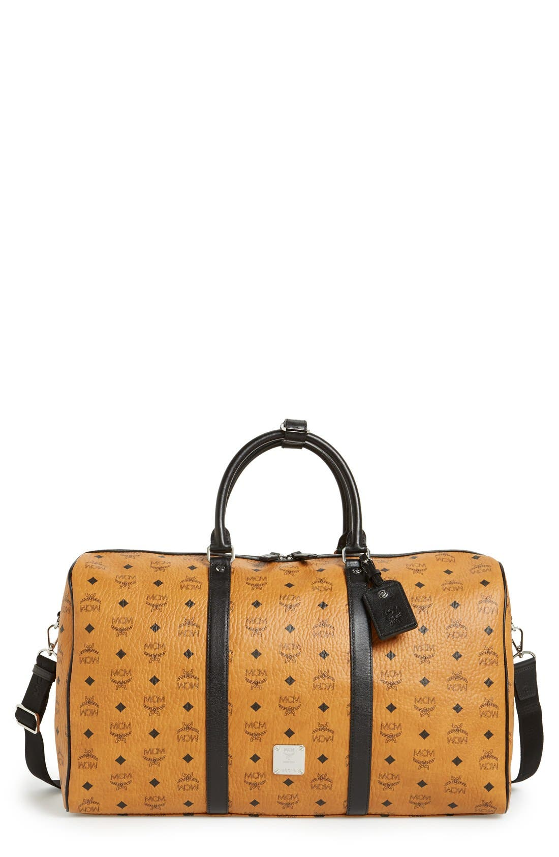Main Image - MCM 'Color Visetos - Large' Weekend Duffel Bag