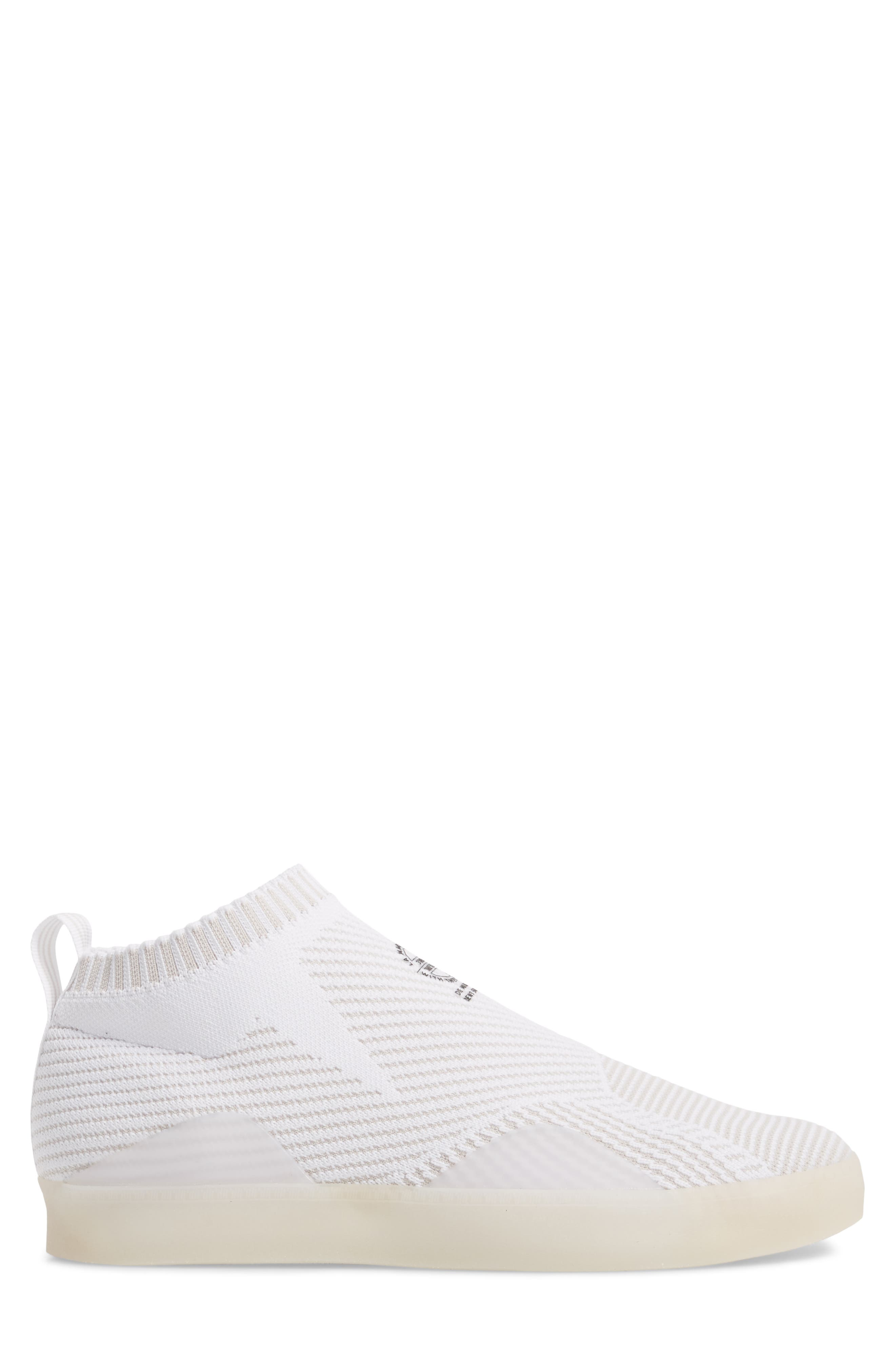 3ST.002 Primeknit Skateboarding Shoe,                             Alternate thumbnail 3, color,                             White / Grey/ Black