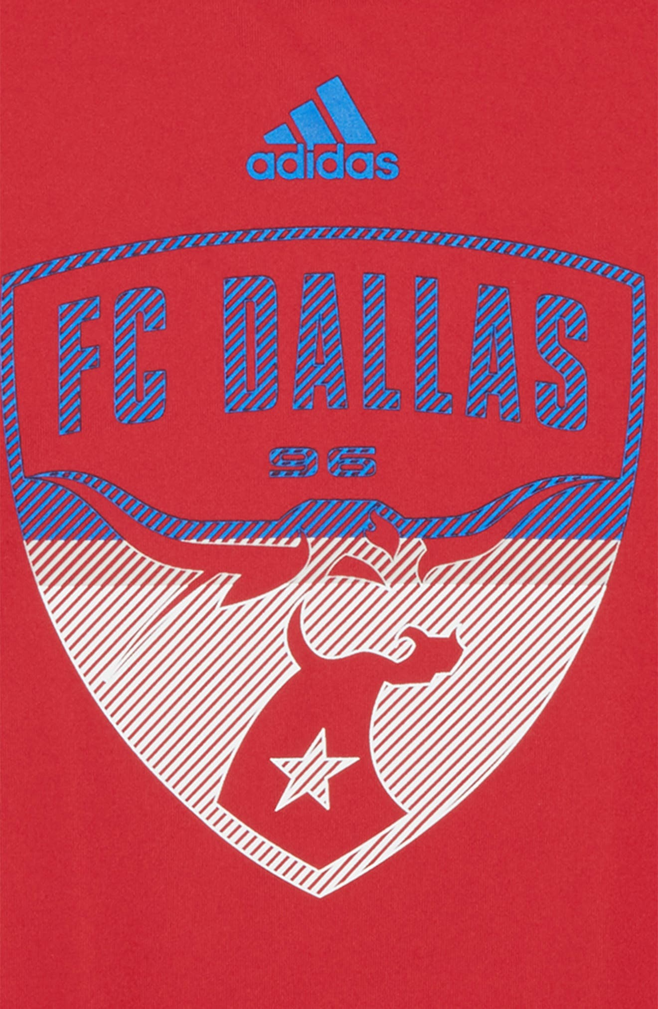 MLS - FC Dallas Graphic T-Shirt,                             Alternate thumbnail 2, color,                             Red
