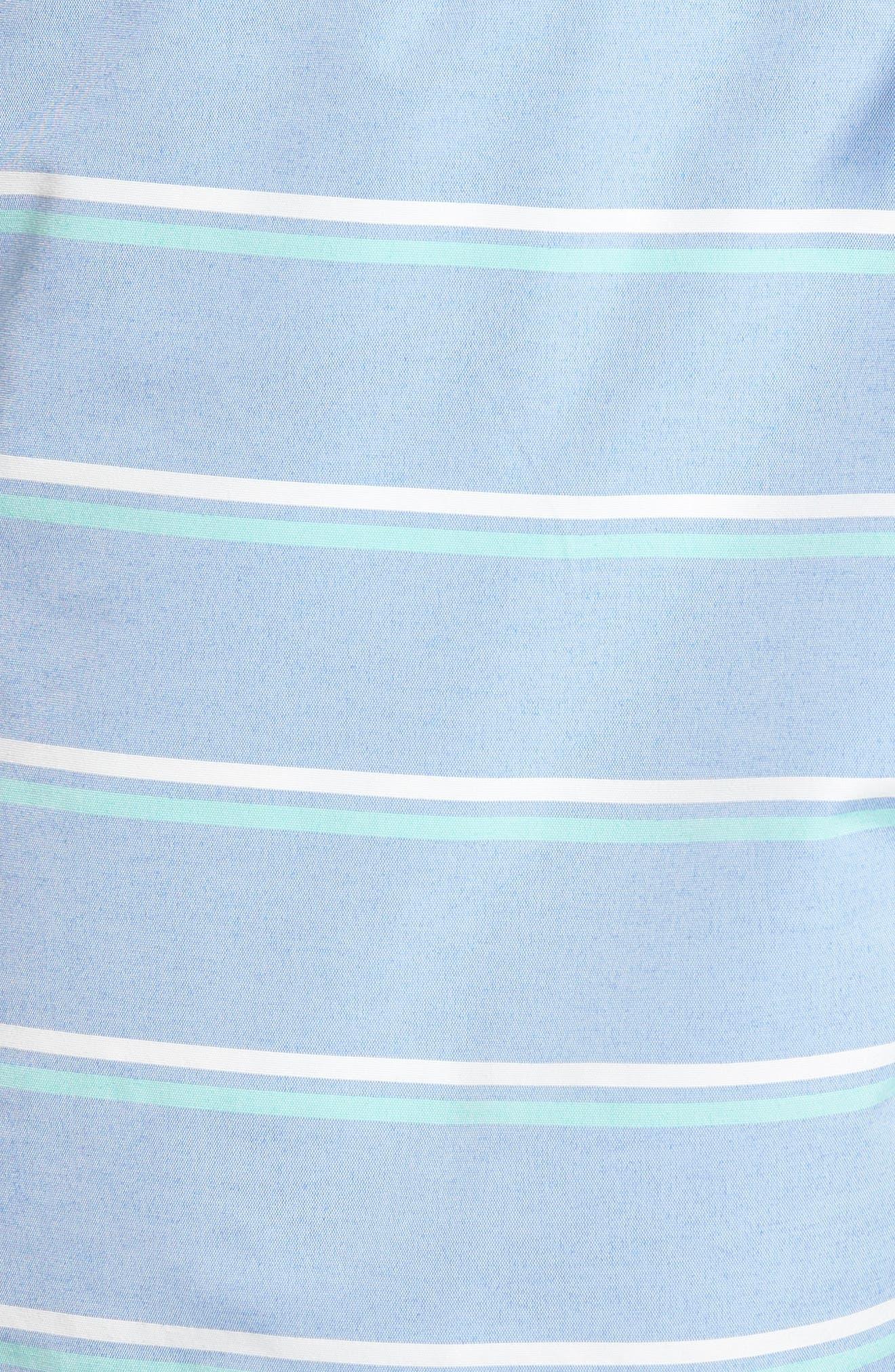 Banzai 7-Inch Swim Trunks,                             Alternate thumbnail 5, color,                             Swim Stripe Rip Curl