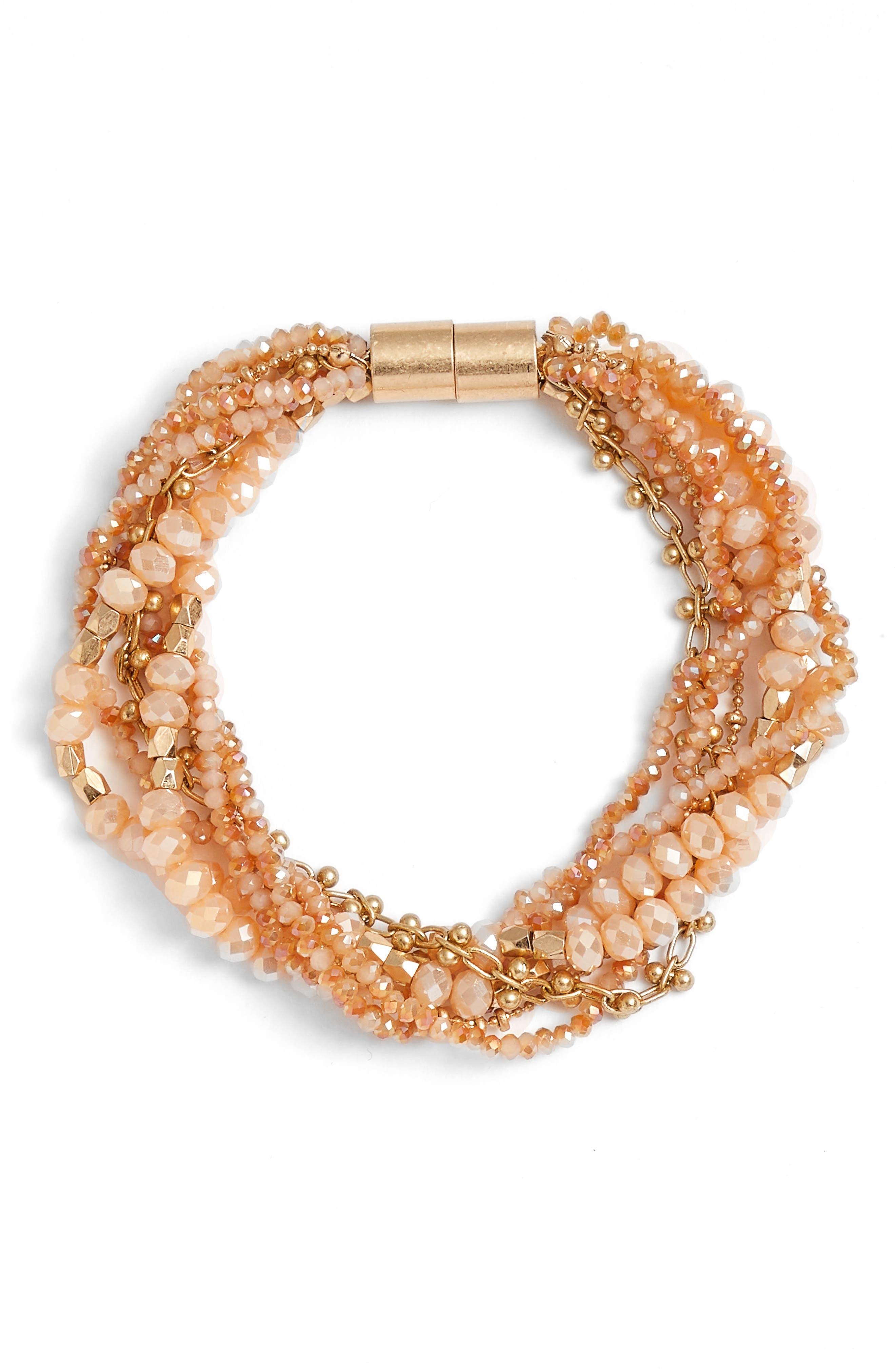 Treasure & Bond Layered Strand Bracelet
