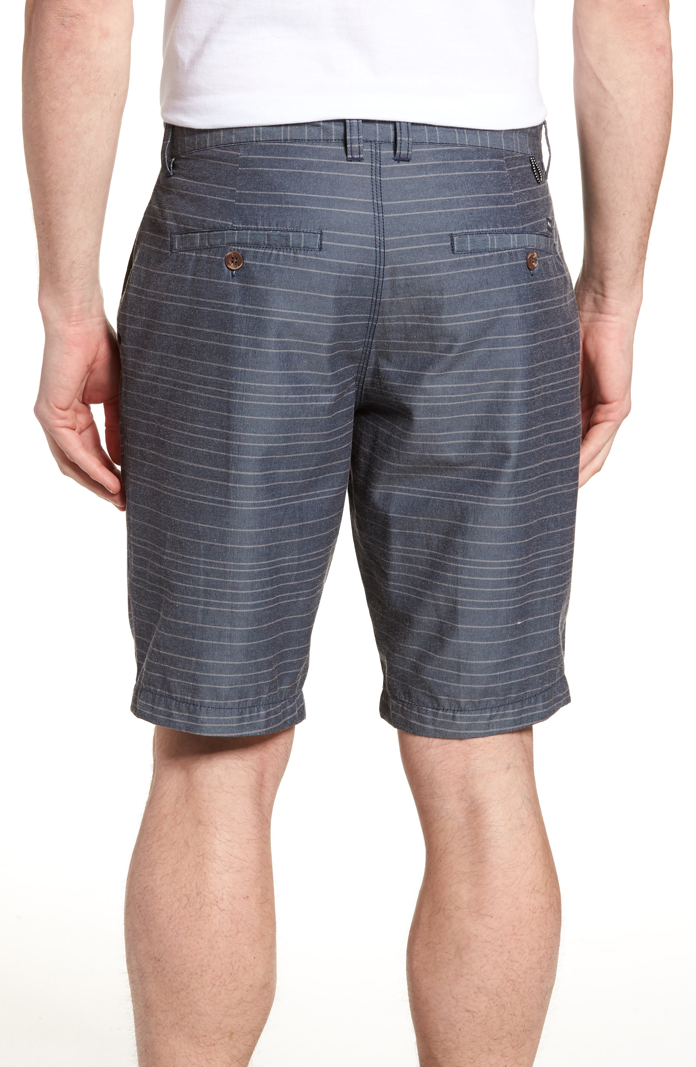 Weekend Hybrid II Shorts,                             Alternate thumbnail 2, color,                             Classic Indigo